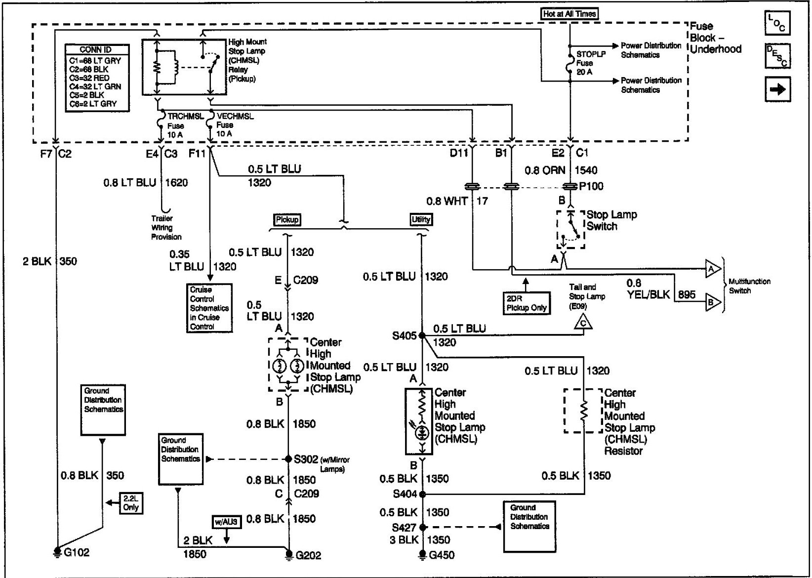 c4500 tail light wiring diagram data wiring diagrams