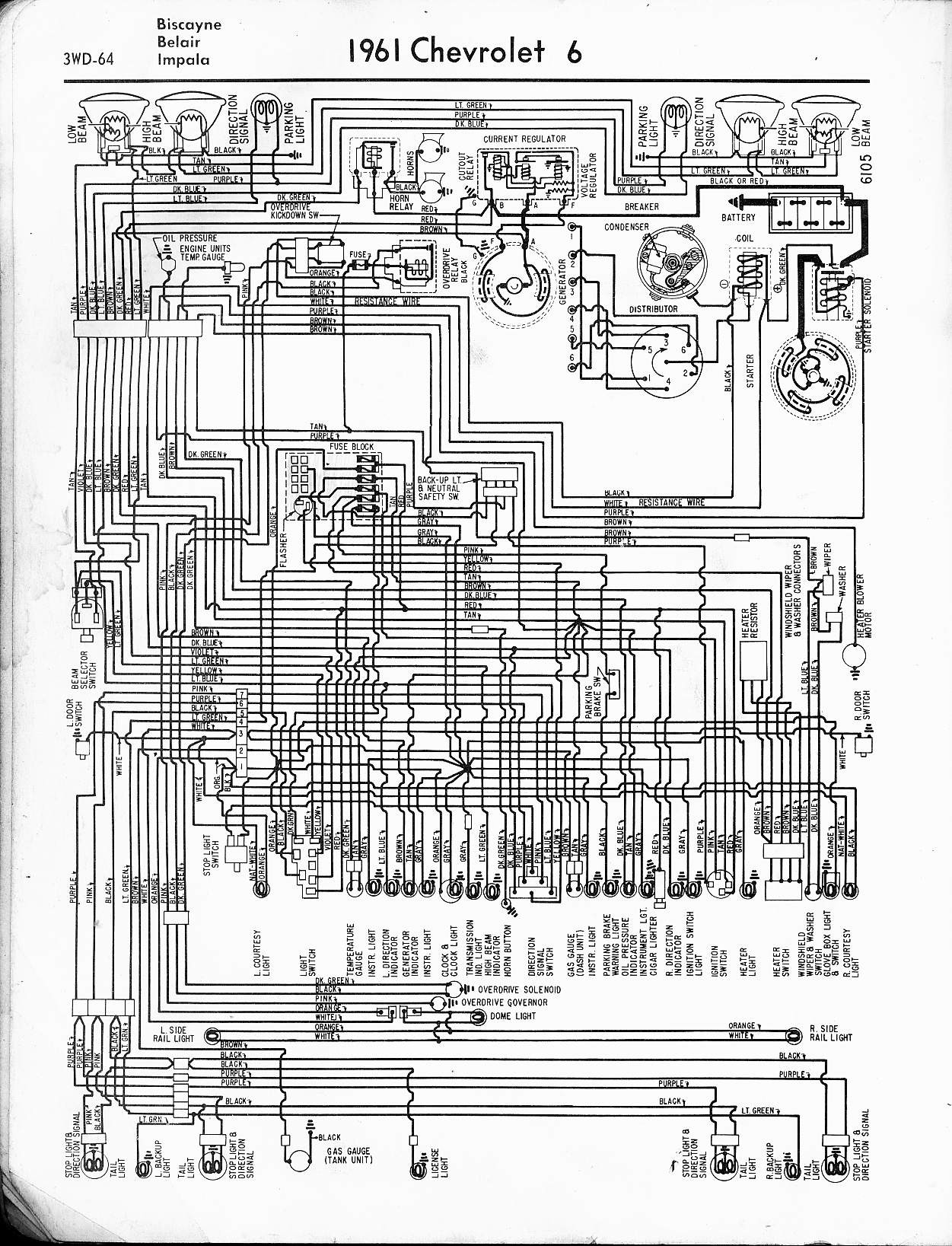 2001 Impala Ignition Switch Wiring Diagram Trusted 2005 Chevy Starter Automotive Block U2022 1964