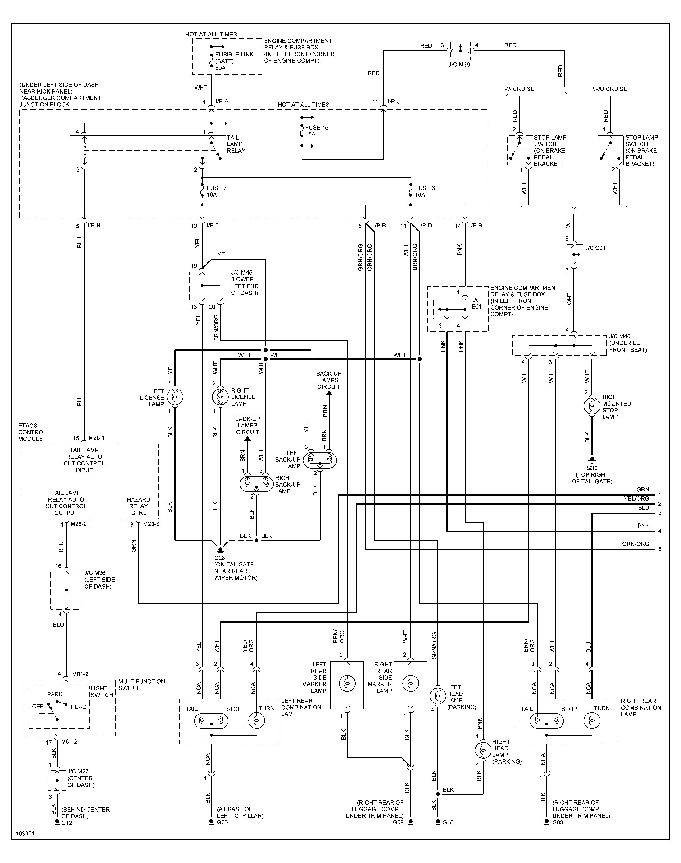 1997 hyundai elantra engine diagram