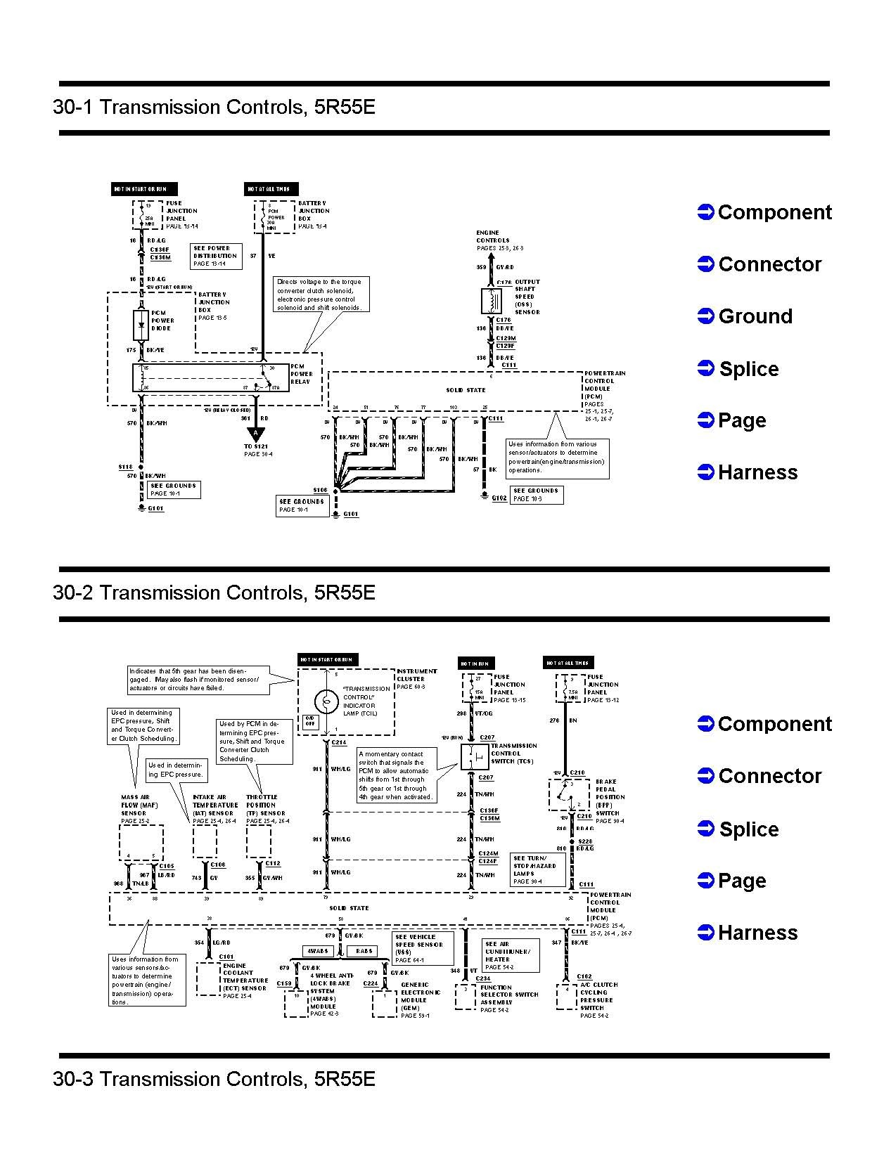 4r70w Wiring 2002 Another Blog About Diagram Ford Aod Transmission 99 Data Diagrams