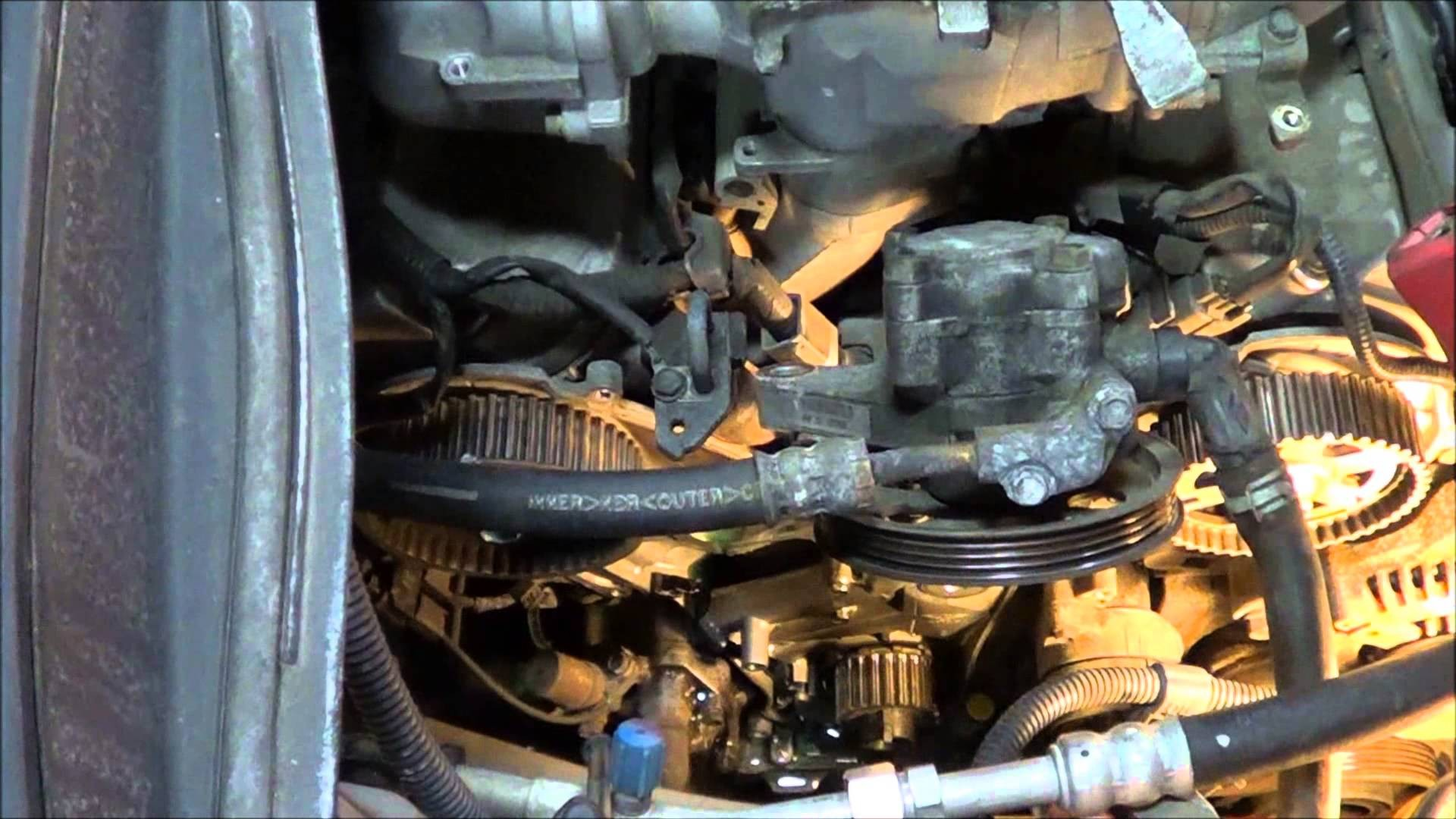 2003 Honda Accord V6 Engine Diagram 2008 3 5l How To Replace The Timing Belt On A 2004