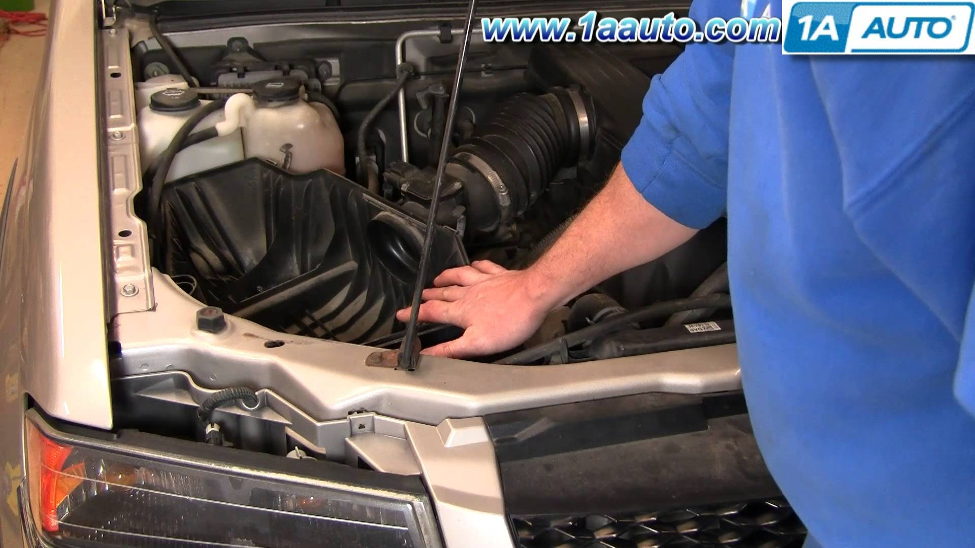 2004 Chevy Colorado Parts Diagram How to Install Replace Engine Air Filter Chevy Colorado 04 12 1aauto Of 2004 Chevy Colorado Parts Diagram