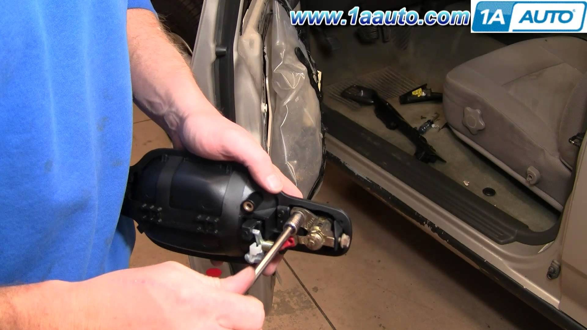 2004 Chevy Colorado Parts Diagram How to Install Replace Front Outside Door Handle Chevy Colorado 04 Of 2004 Chevy Colorado Parts Diagram