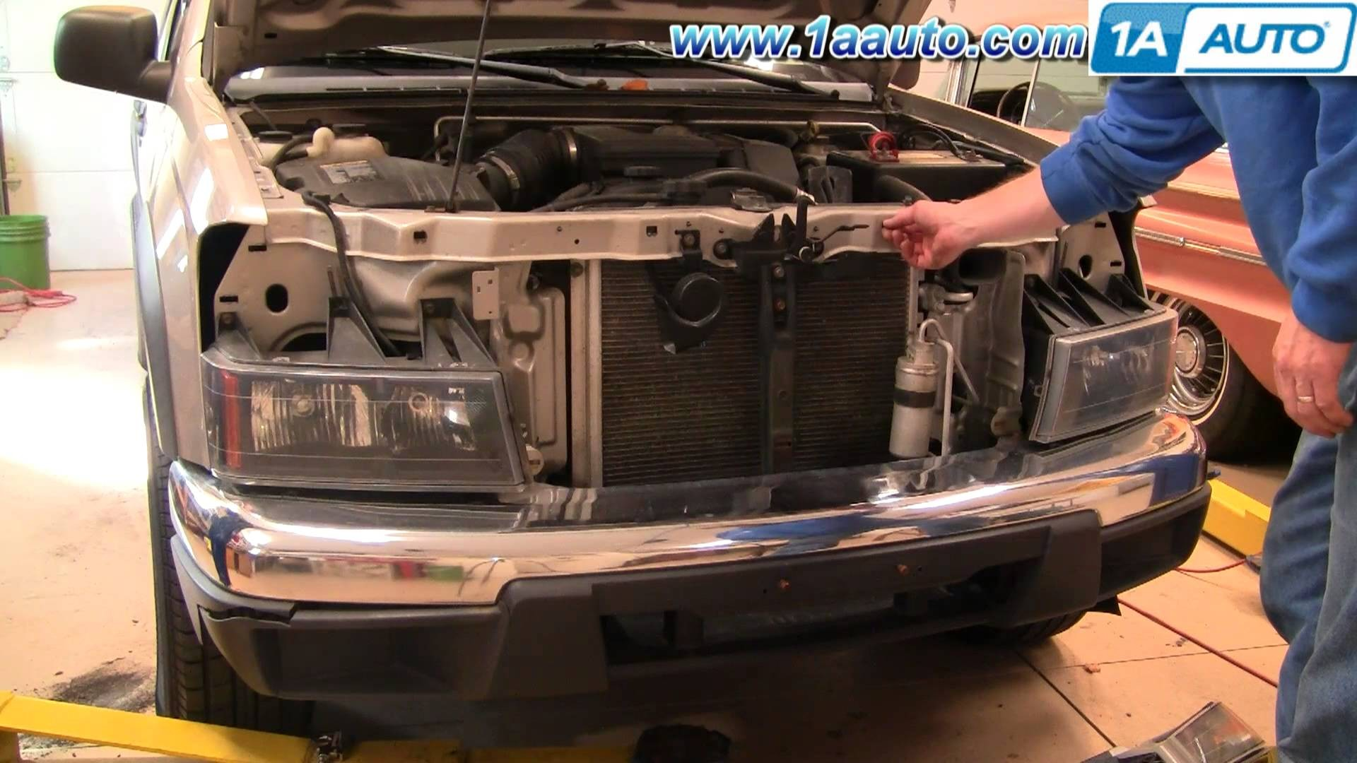 2004 Chevy Colorado Parts Diagram How to Install Replace Remove Front Grille Panel Chevy Colorado 04 Of 2004 Chevy Colorado Parts Diagram