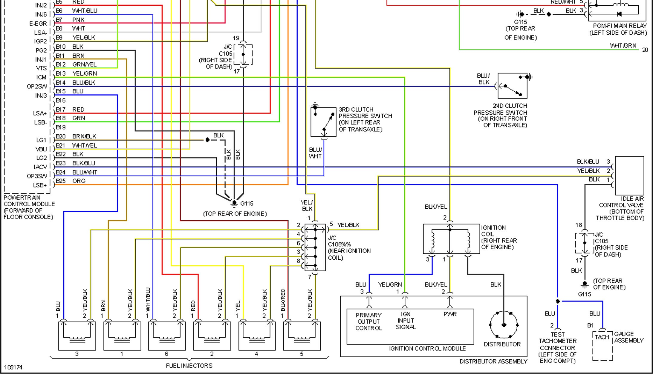 2004 Honda Accord Engine Diagram Car Diagram Wiring B18 Front Will Not  Start Honda Accord Miles