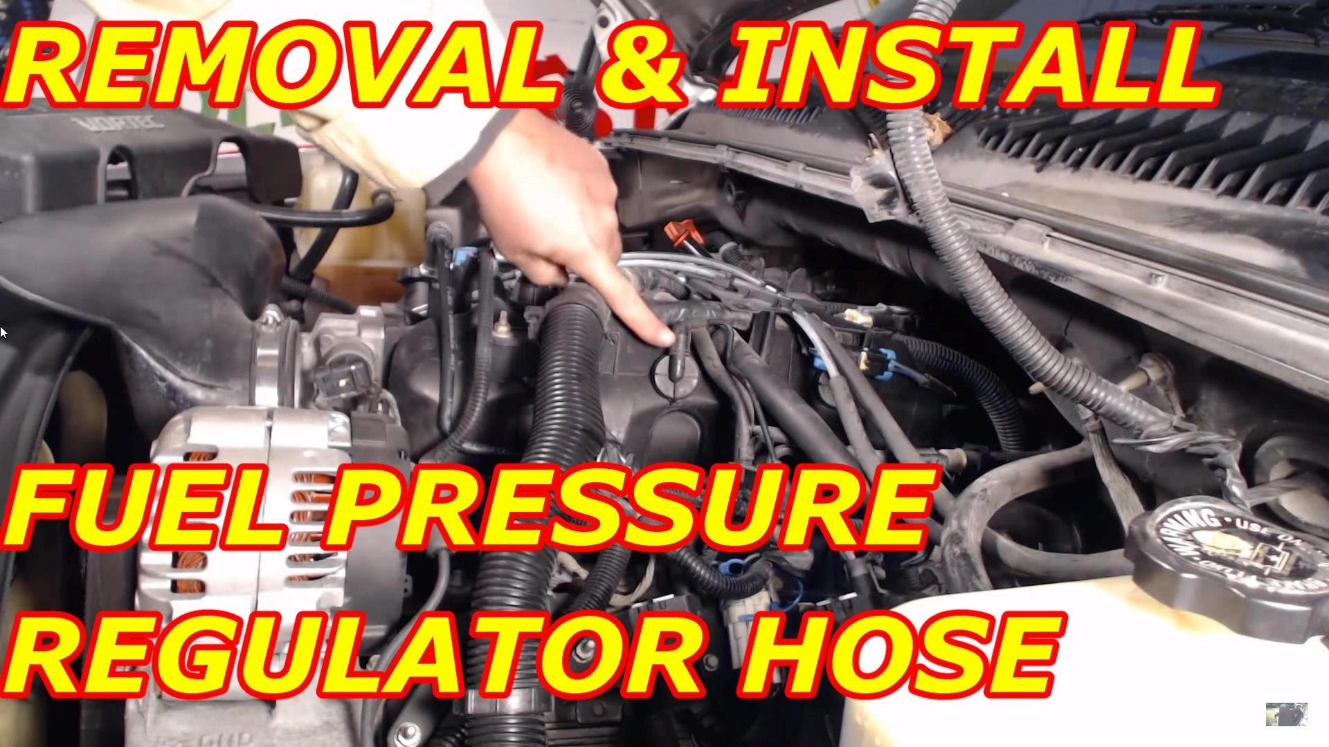 2004 Kia Sedona Engine Diagram Car Towmotor 4 Cylinder Optima Fuel Pressure Regulator Vacuum Hose Replacement Of