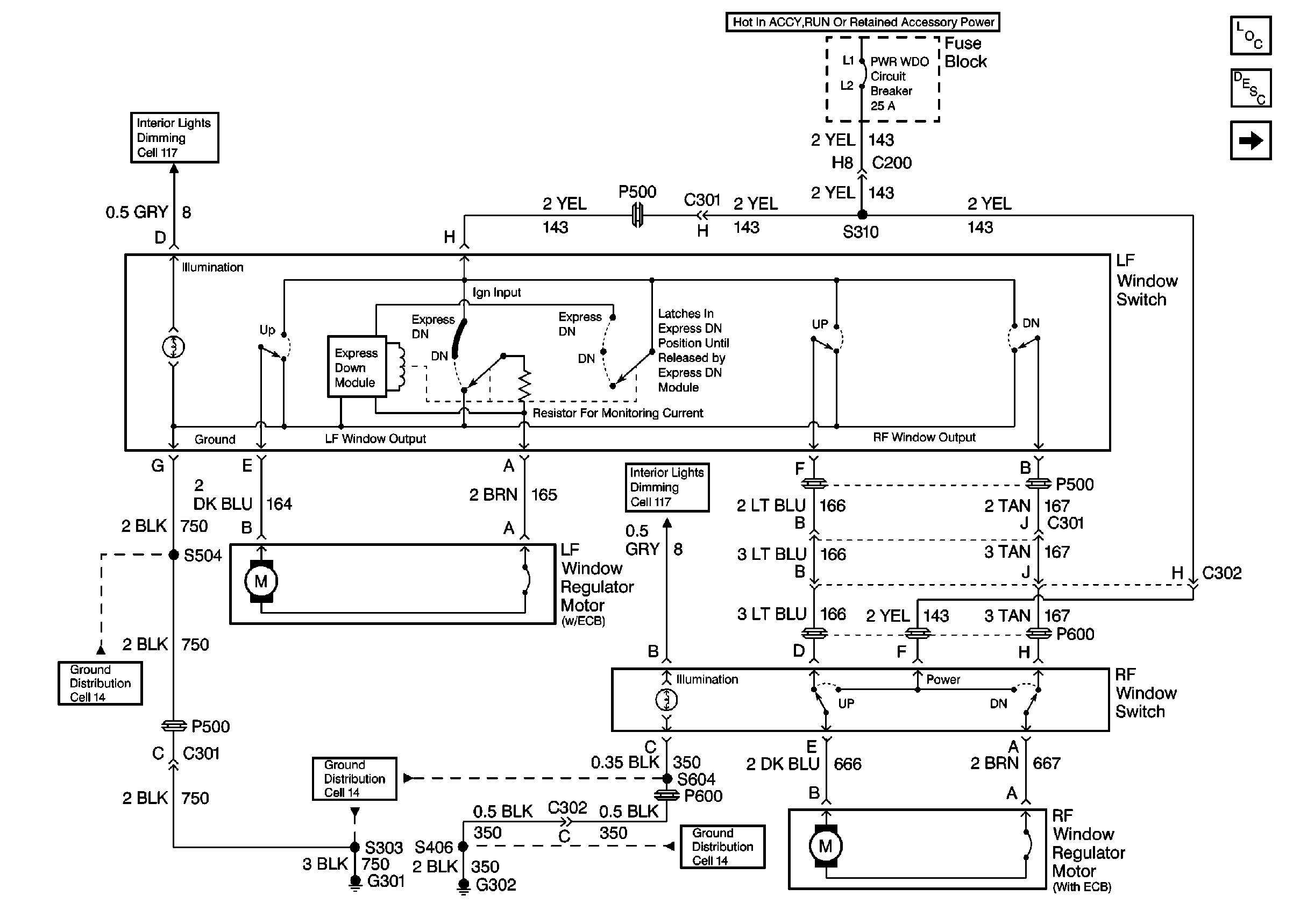 Radio Wiring Diagram For 1999 Pontiac Grand Prix