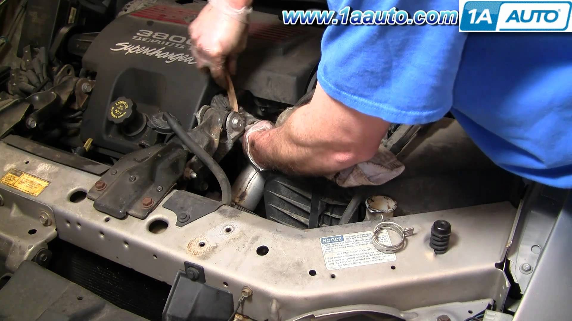 2005 Pontiac Grand Prix Engine Diagram How To Install Replace Fuel Gm 3 4 L Upper Radiator Hose Regal