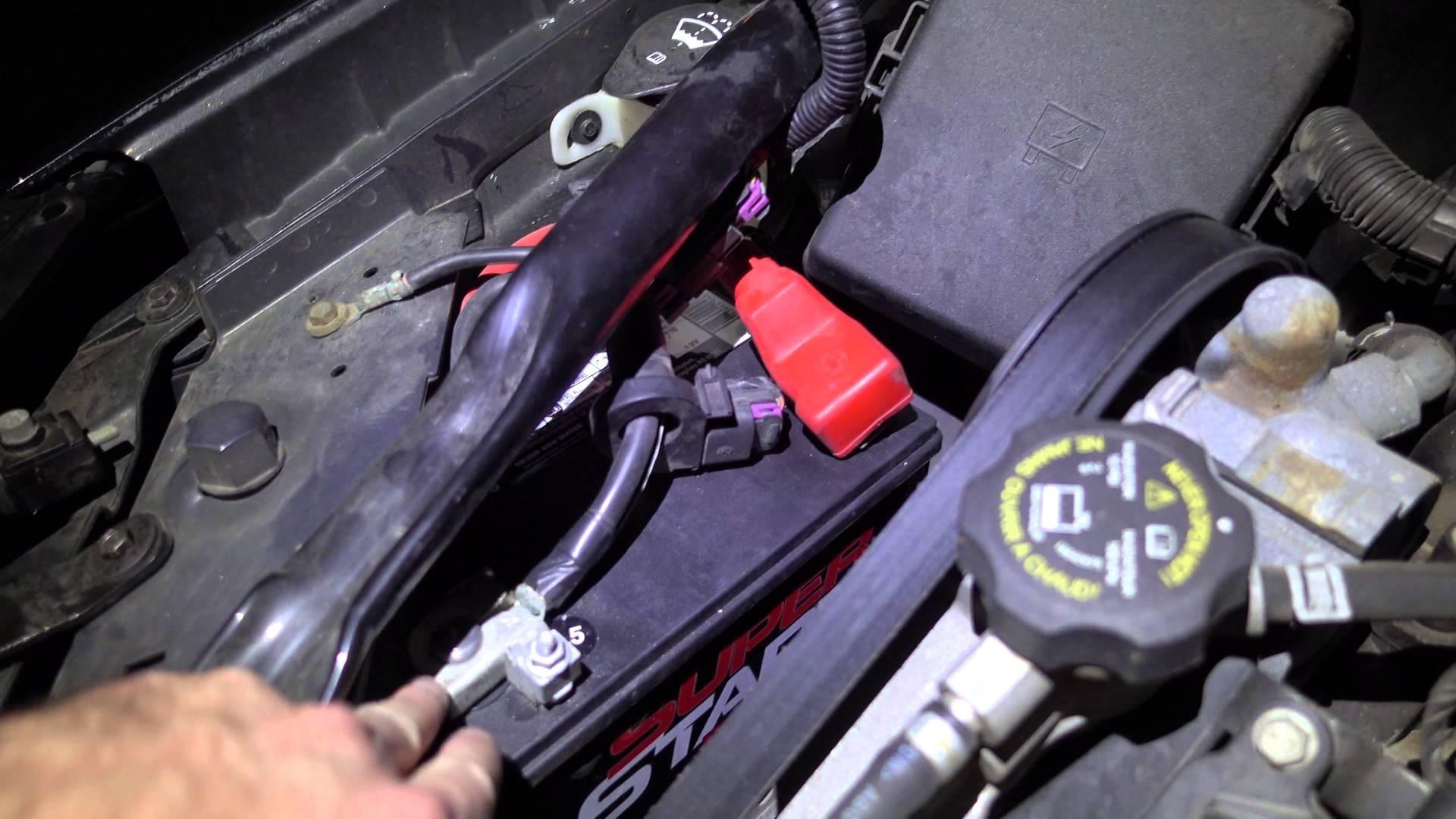 2005 Pontiac Grand Prix Engine Diagram How To Install Replace Fuel Gm 3 4 L Car Battery 2004 2006 2007 And