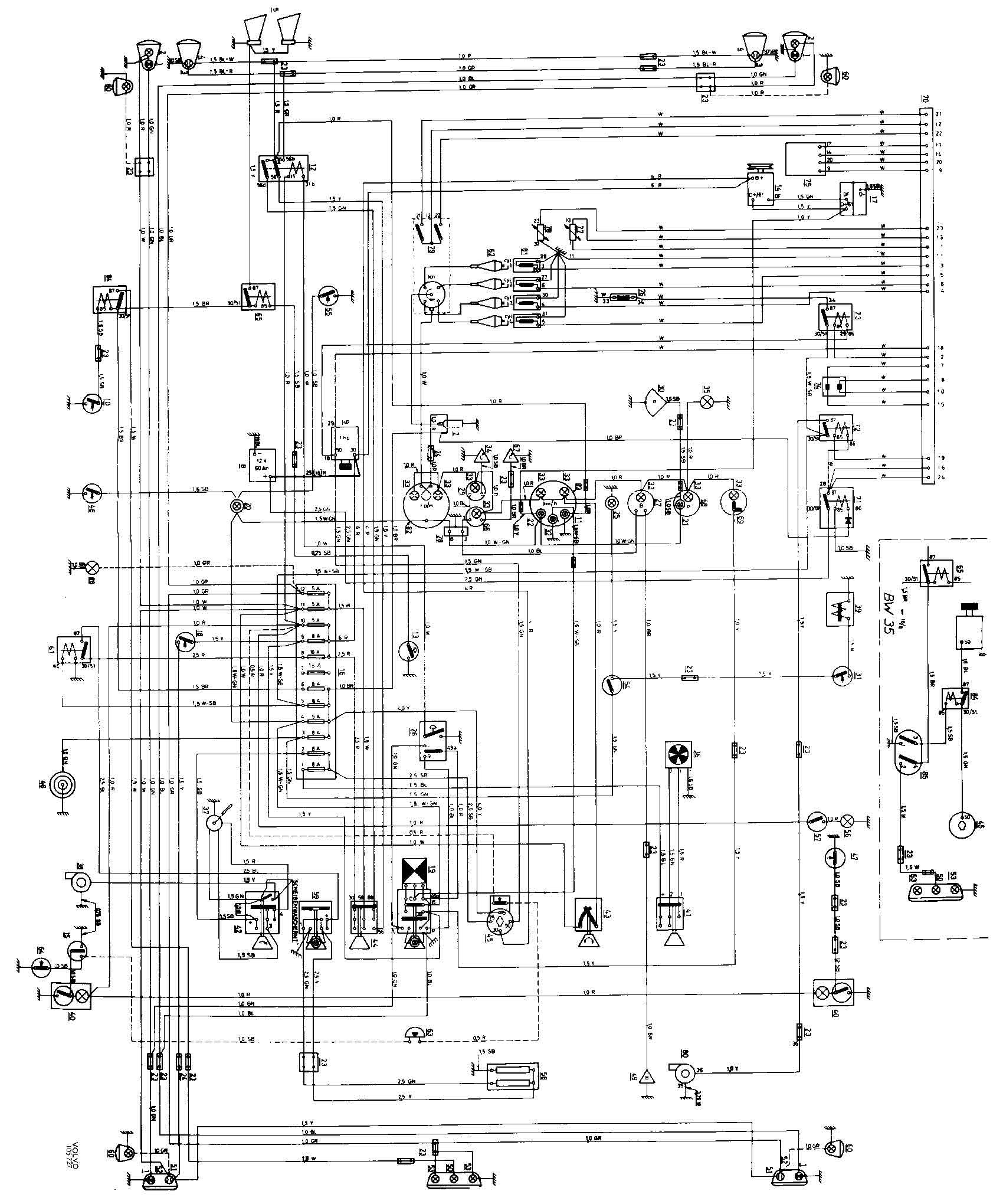 1998 volvo v70 engine diagram volvo 164 engine diagram #5