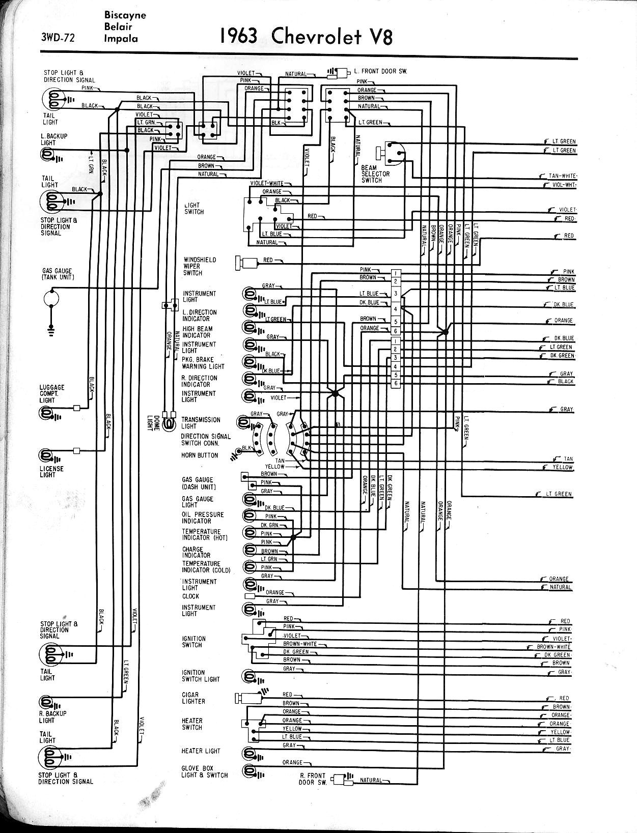 Light Wiring Diagram 78 Chevy Nova Electrical Schematics 1971 Rear Wire Harness 1963 Headlight Switch Center U2022 Ford Voltage Regulator