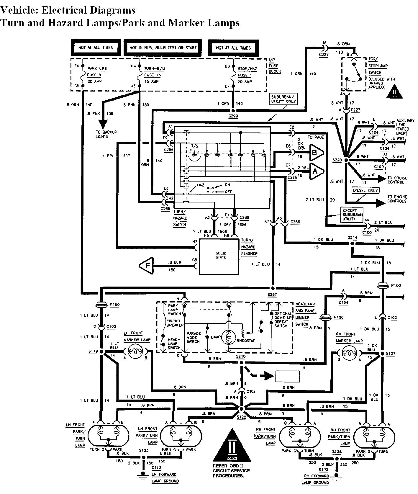 2006 chevy silverado tail light wiring diagram