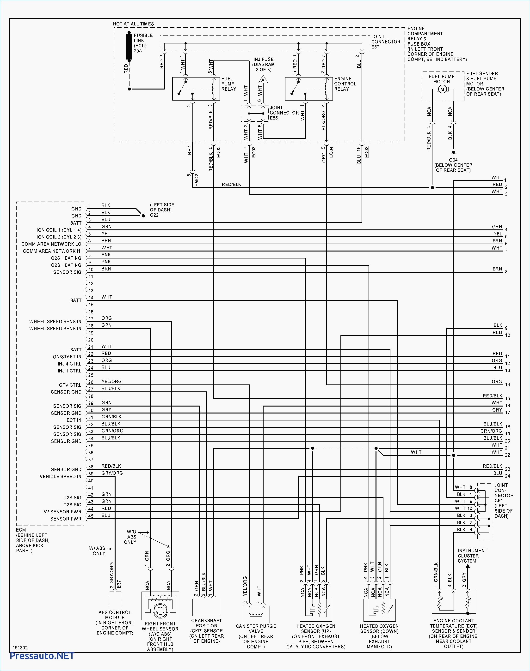 2006 Hyundai sonata Engine Diagram 2004 Hyundai Santa Fe Engine Diagram  Unique Hyundai Wiring Diagrams Of