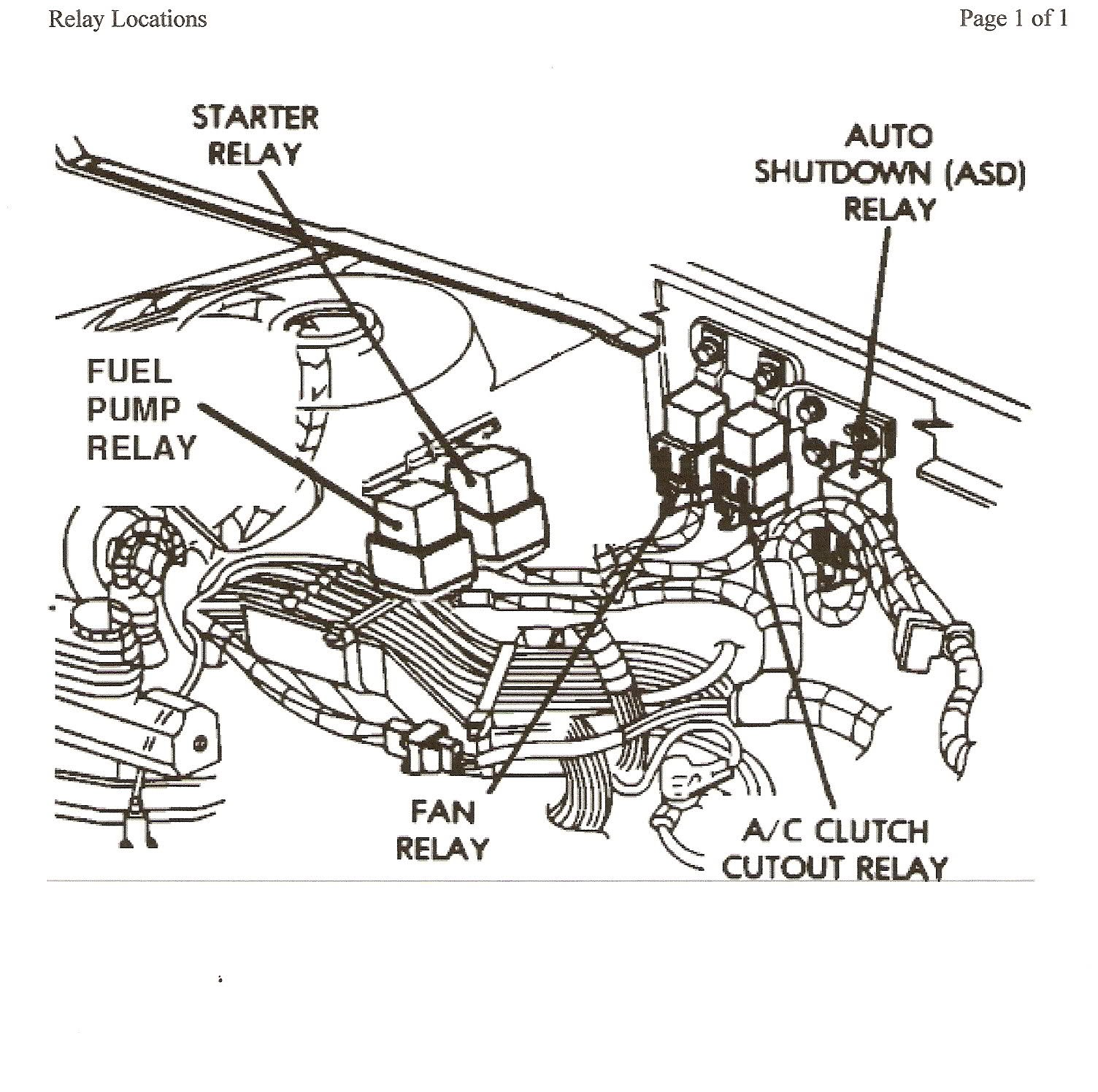 2007 Chrysler Pacifica Engine Diagram 2005 300 Wiring Diagrams 2004 Ground Of