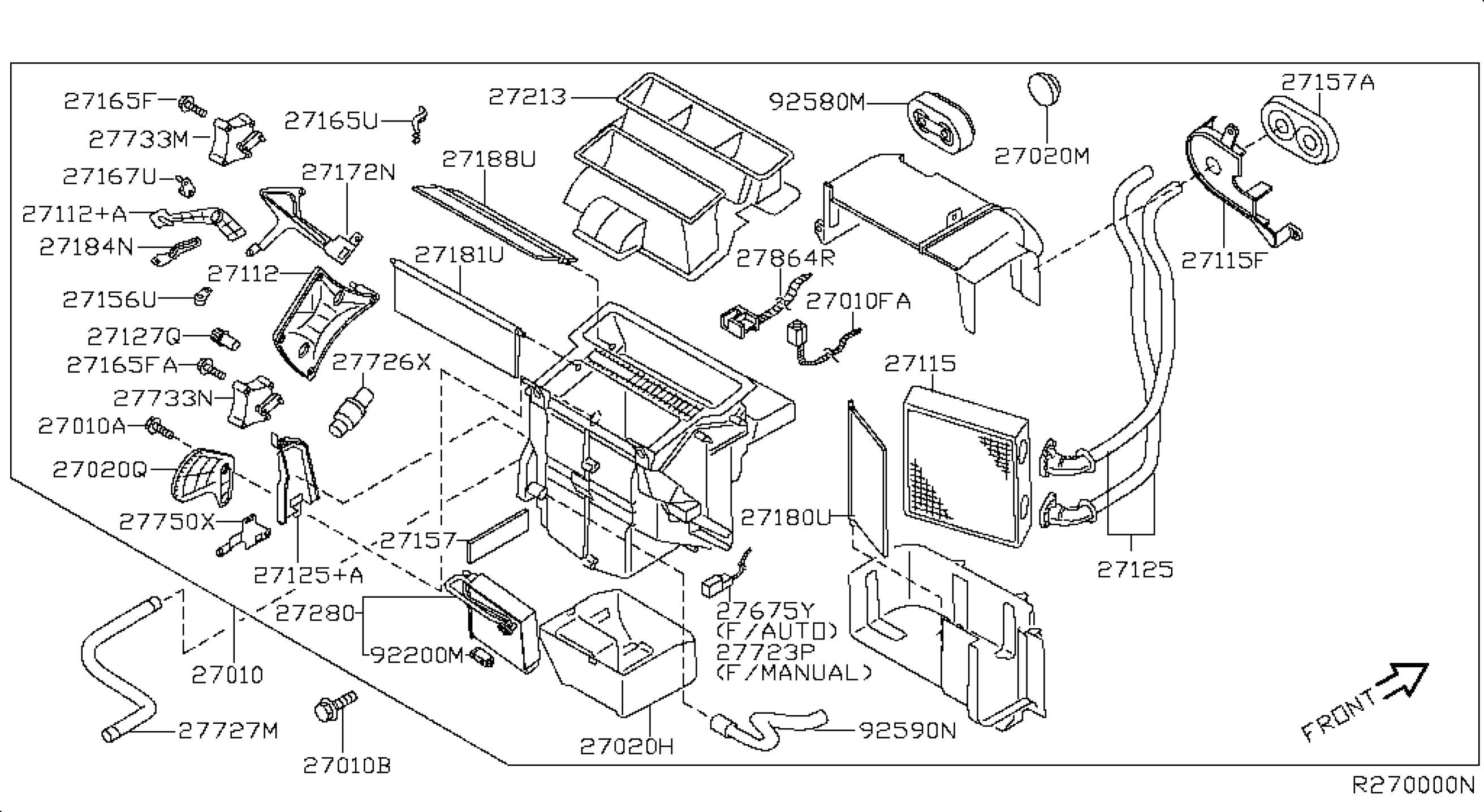 Nissan Sentra 2008 Parts Diagram