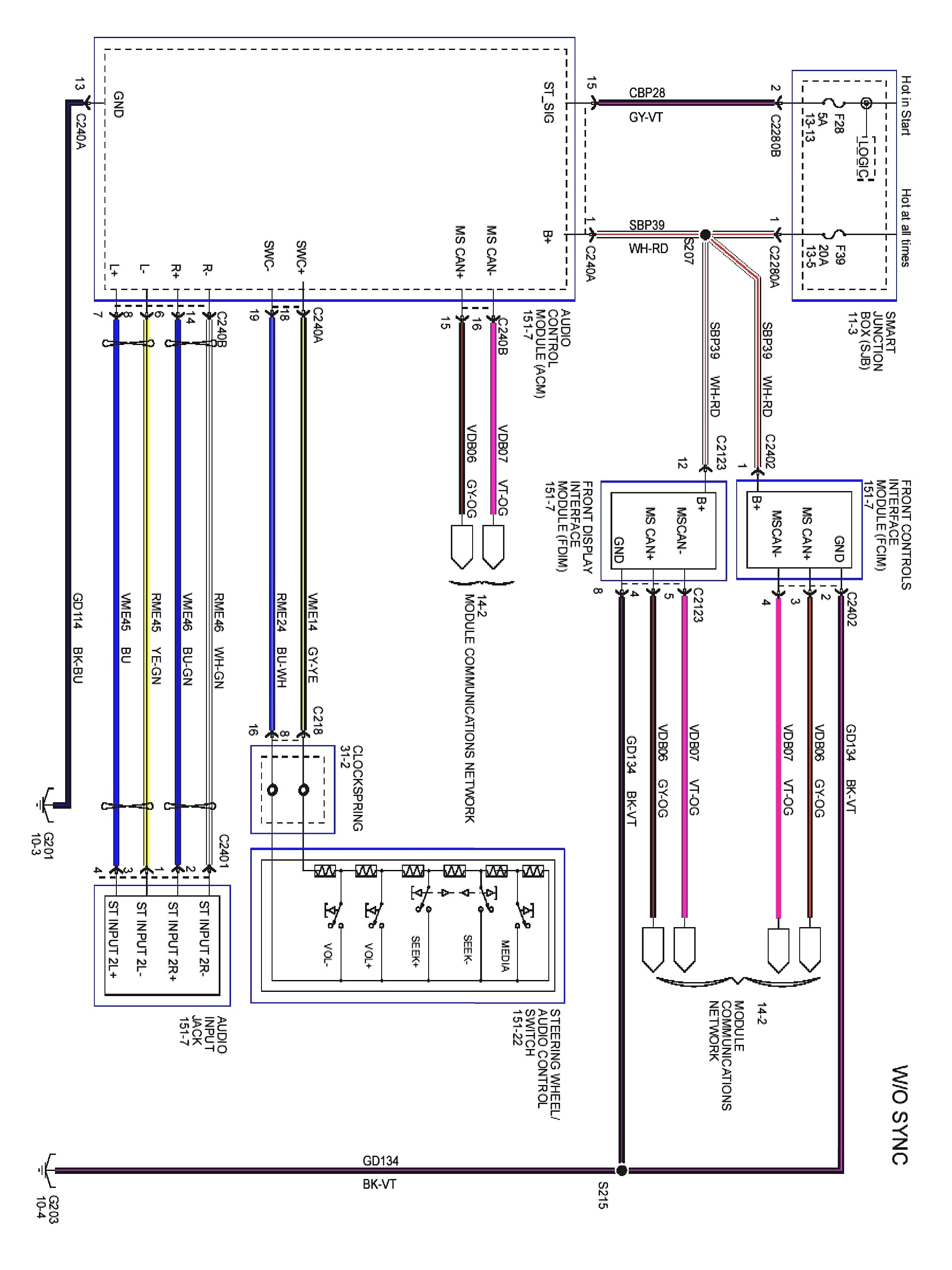 2012 ford Focus Wiring Diagram ford Focus Mk2 Wiring Diagram New and Roc Grp Of 2012 ford Focus Wiring Diagram