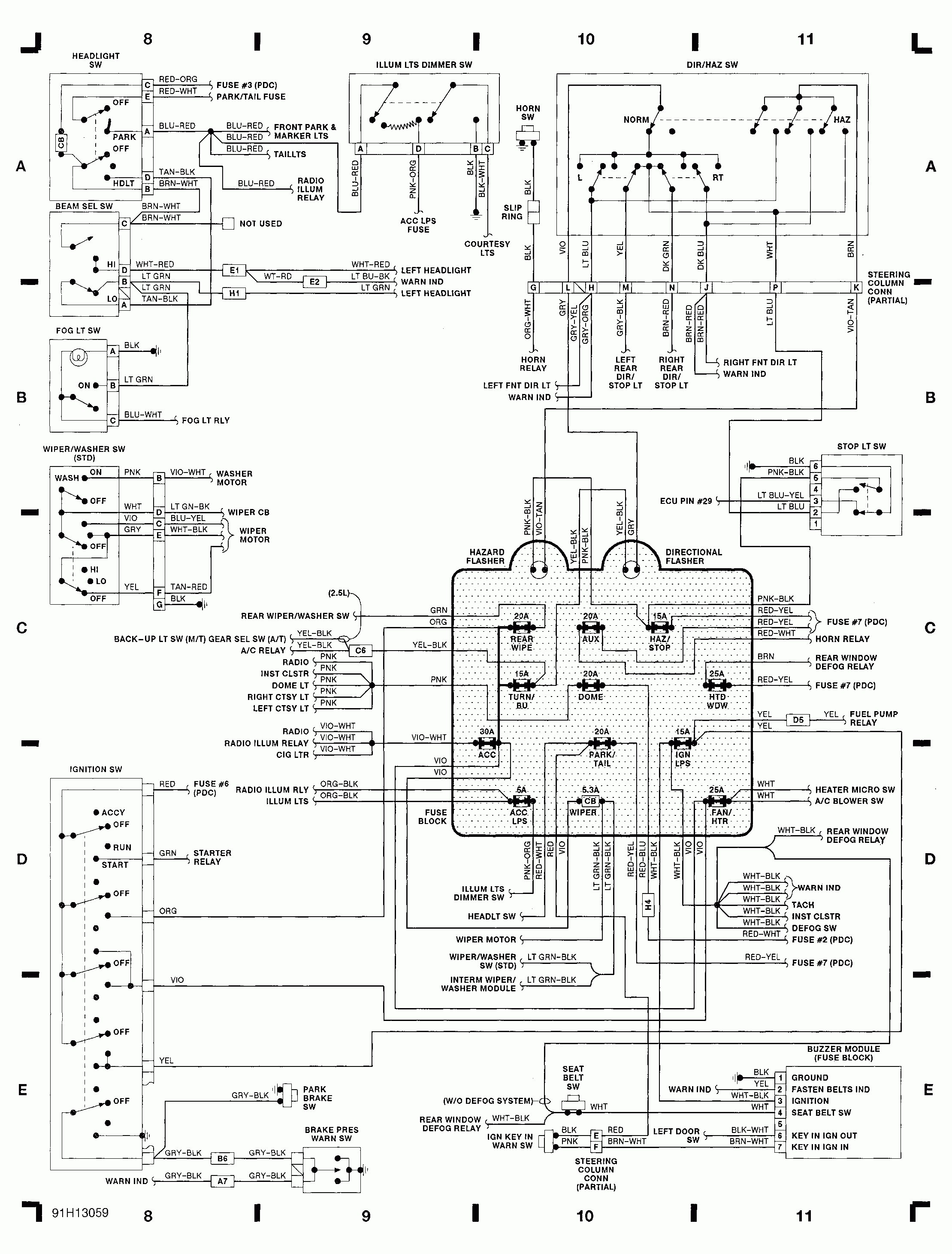 1990 Jeep Engine Diagrams | Wiring Diagram Jeep Horn Wiring Diagram on