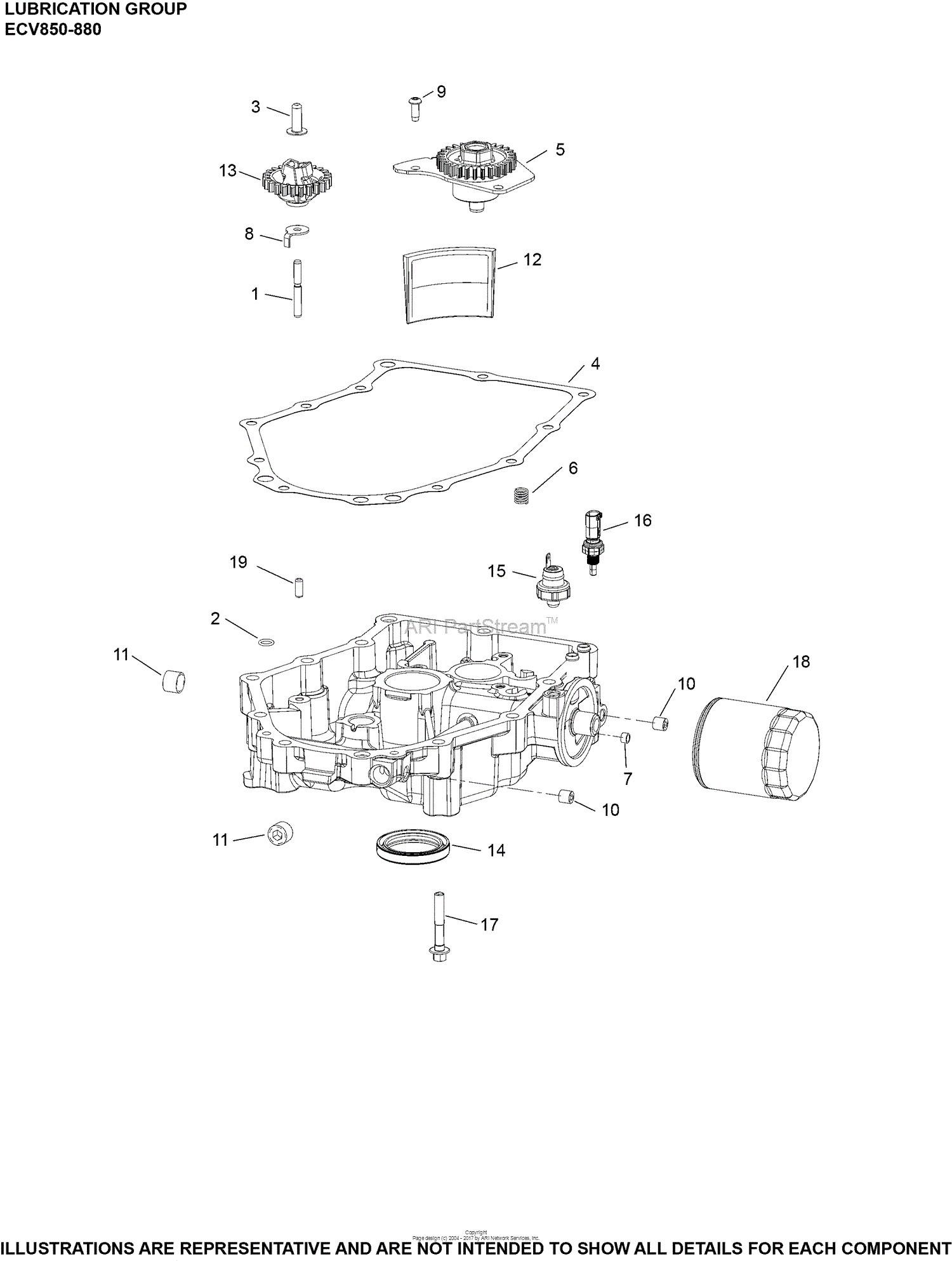 Kohler 27 Hp Engine Parts