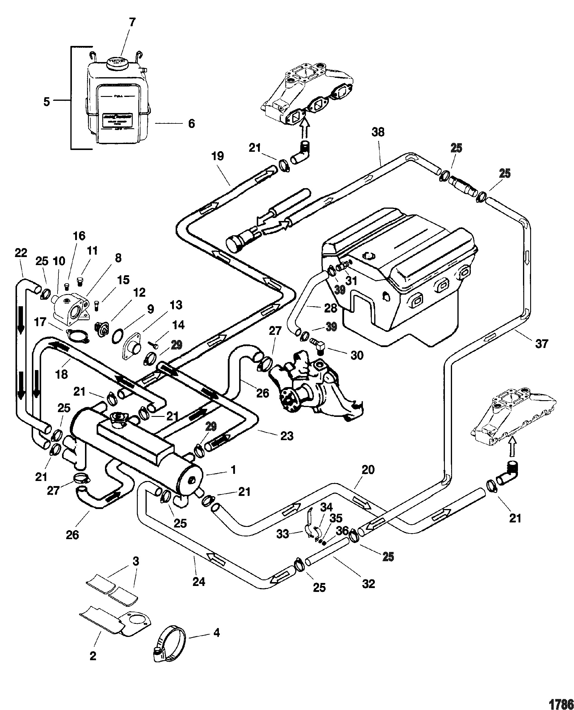 2000 5 0 Mercruiser Engine Diagram Worksheet And Wiring Electrical System Diagrams Chrysler 3 Third Level Rh 2 13 20 Jacobwinterstein Com Sterndrive Parts