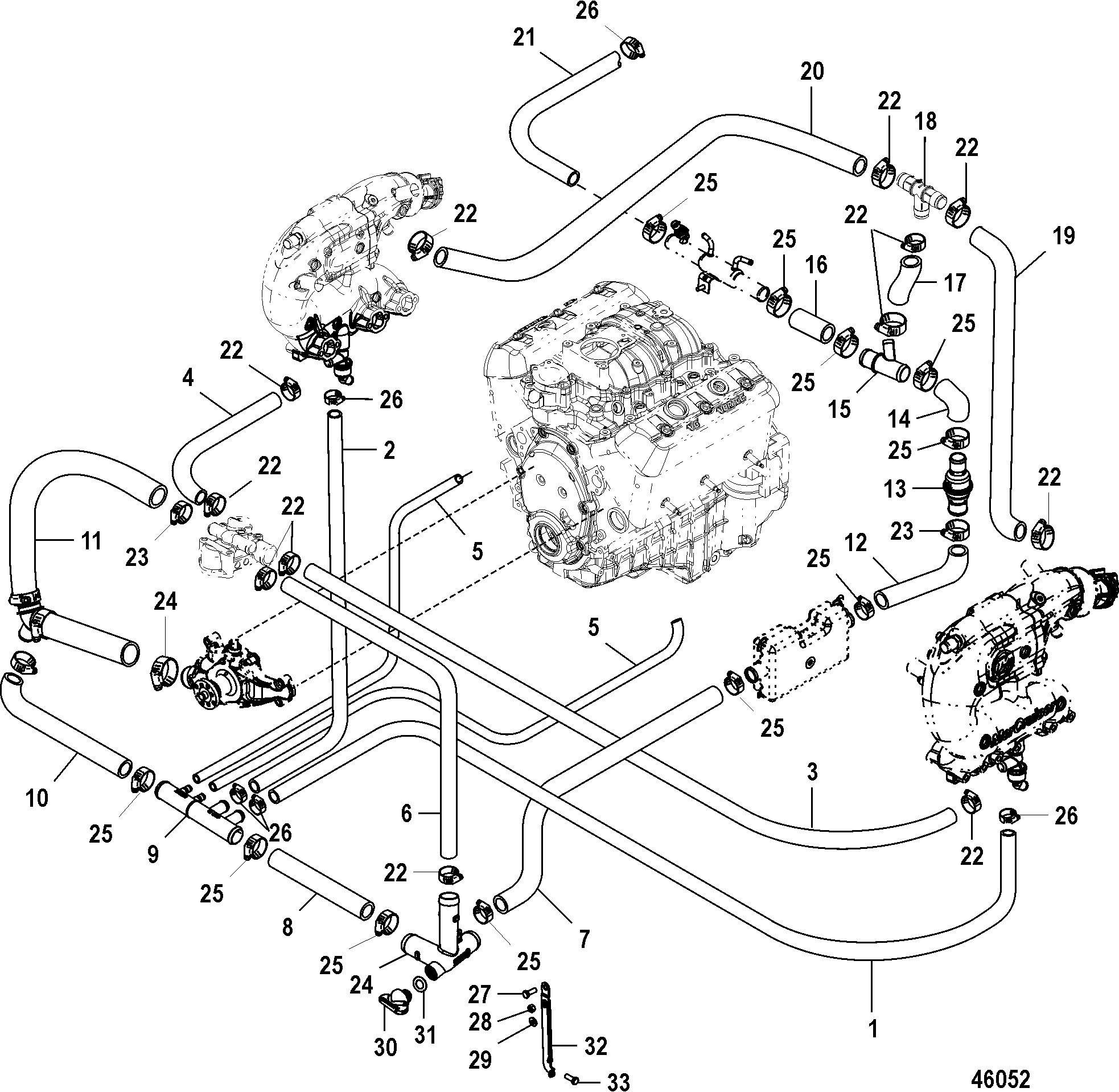 1986 Mercruiser 4 3 Engine Wiring Library 350 Diagram 1995 Images Gallery