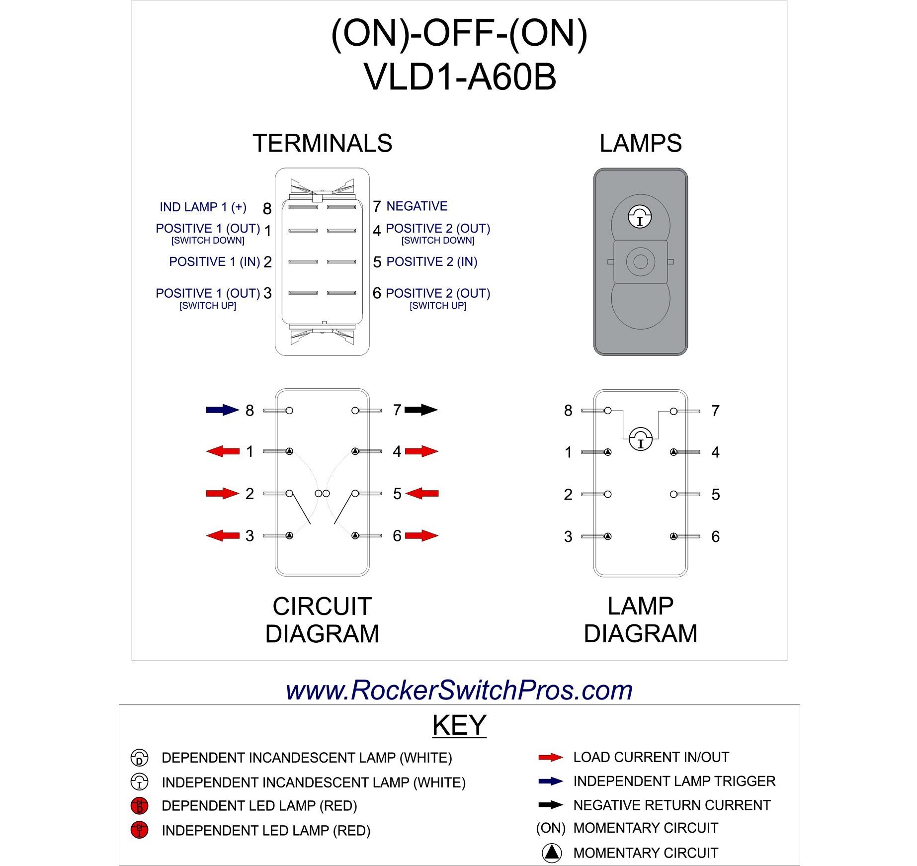 6 Pin Power Window Switch Wiring Diagram Unique 5 Pin Rocker Switch Wiring  Diagram Diagram
