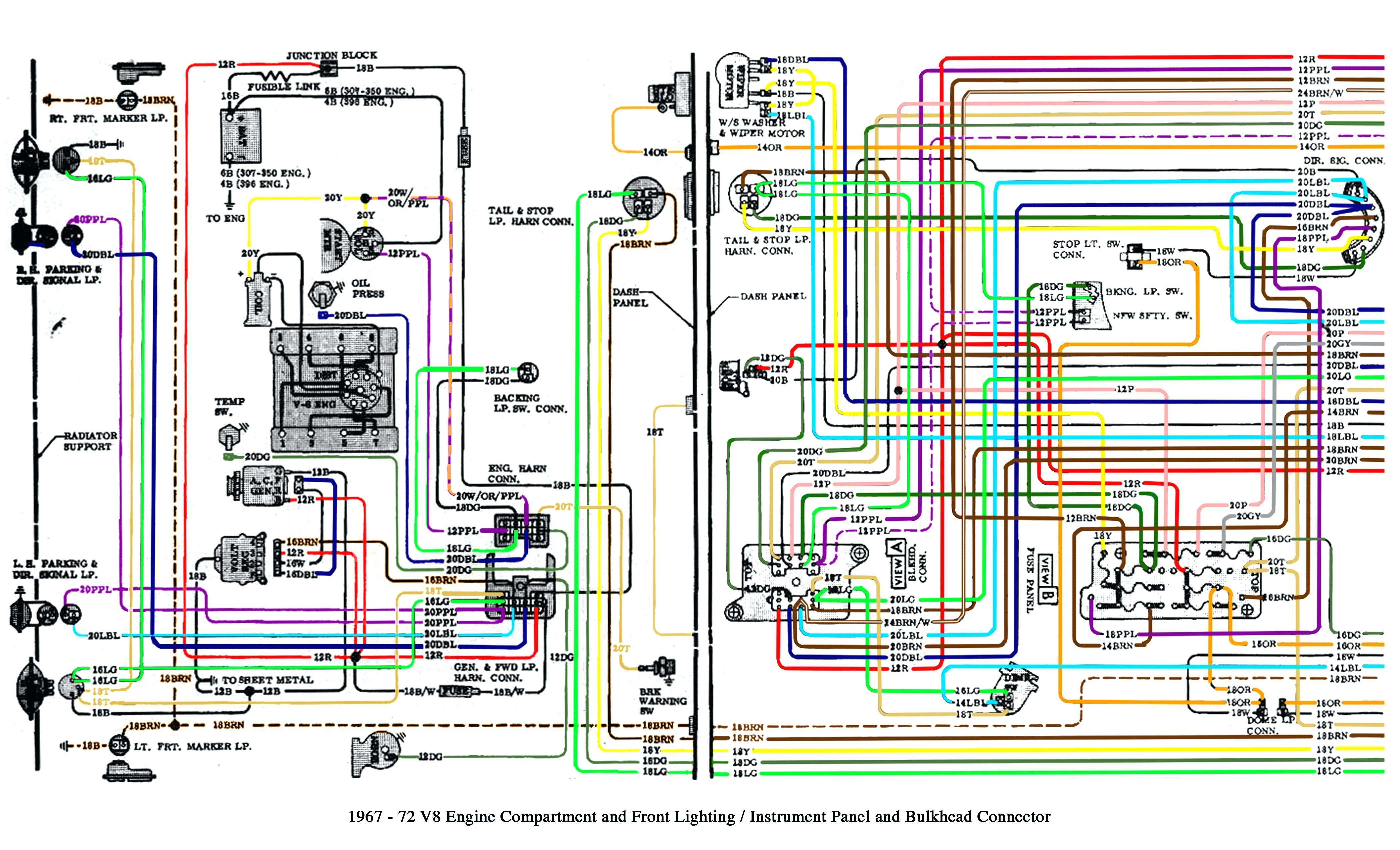 67 72 Chevy C10 Wiring Harness - Find Wiring Diagram •
