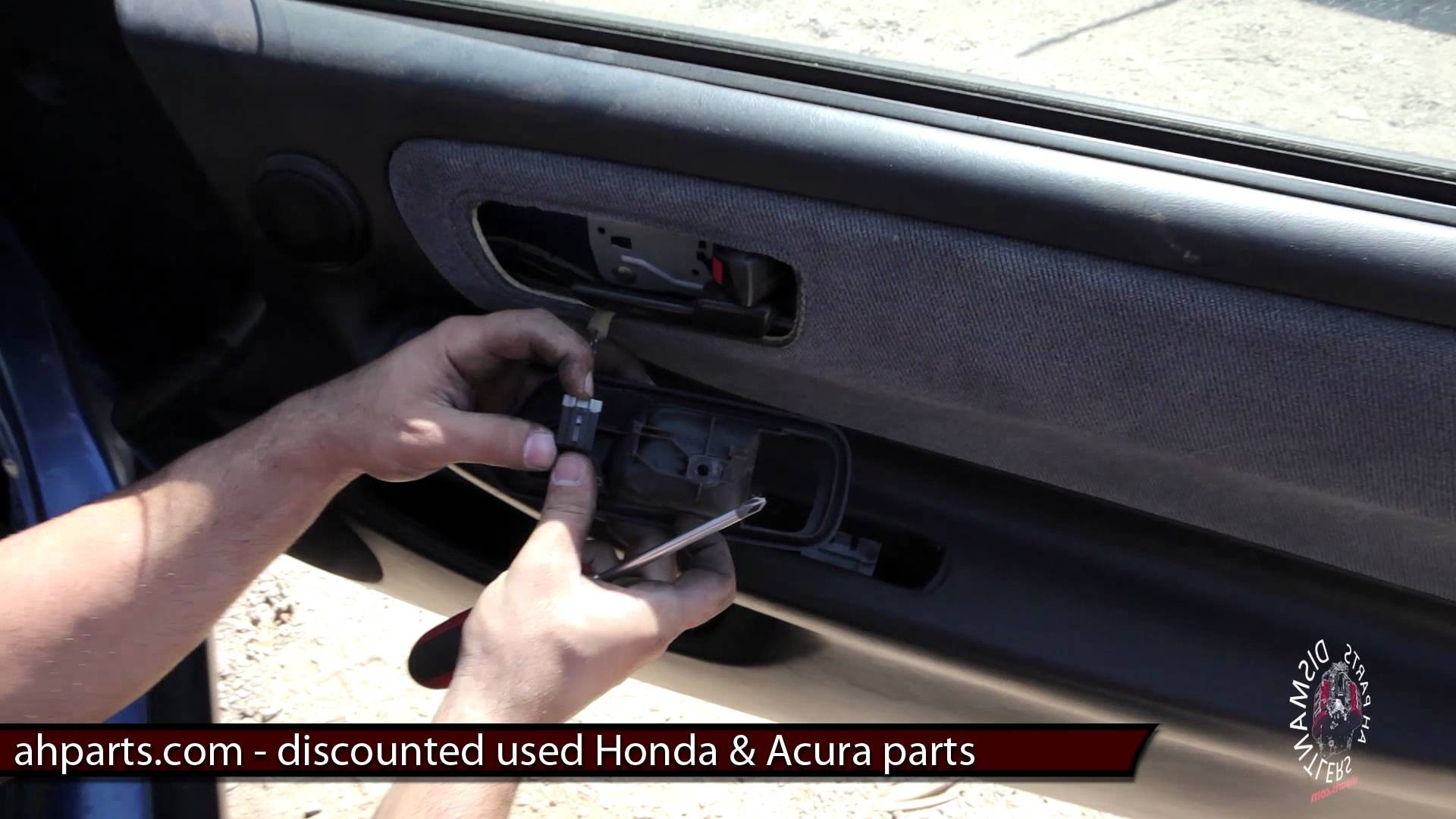 Acura Integra Parts Diagram How to Replace Install A Door Panel Diy 94 95  96 97
