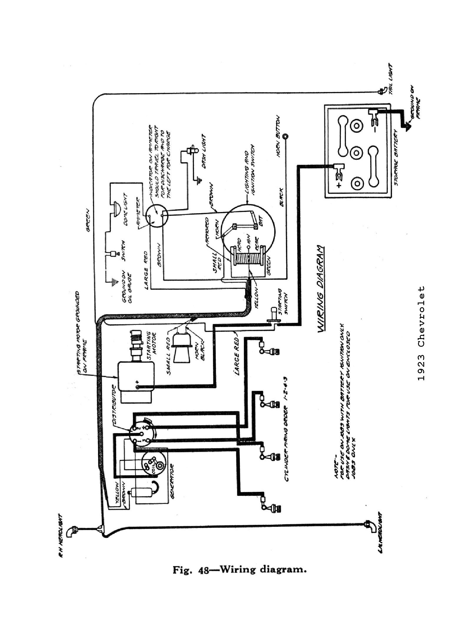 Alternator Wiring Diagram Chevy Fresh 3 Wire Alternator Wiring ...