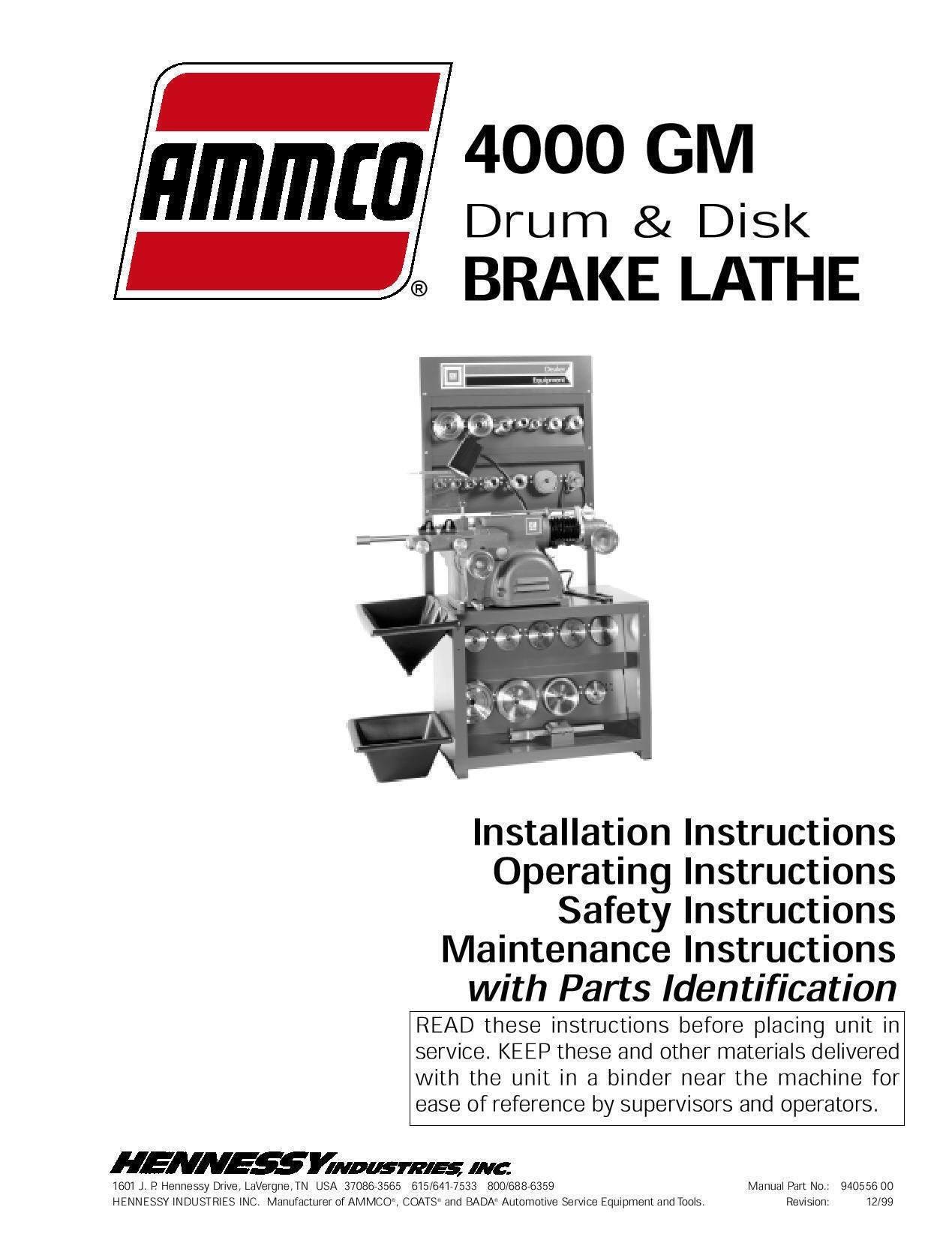 Ammco 4000 Brake Lathe Parts Diagram Ammco Brake Lathe Parts Diagram Man Ammco In Graceful Screnshoots