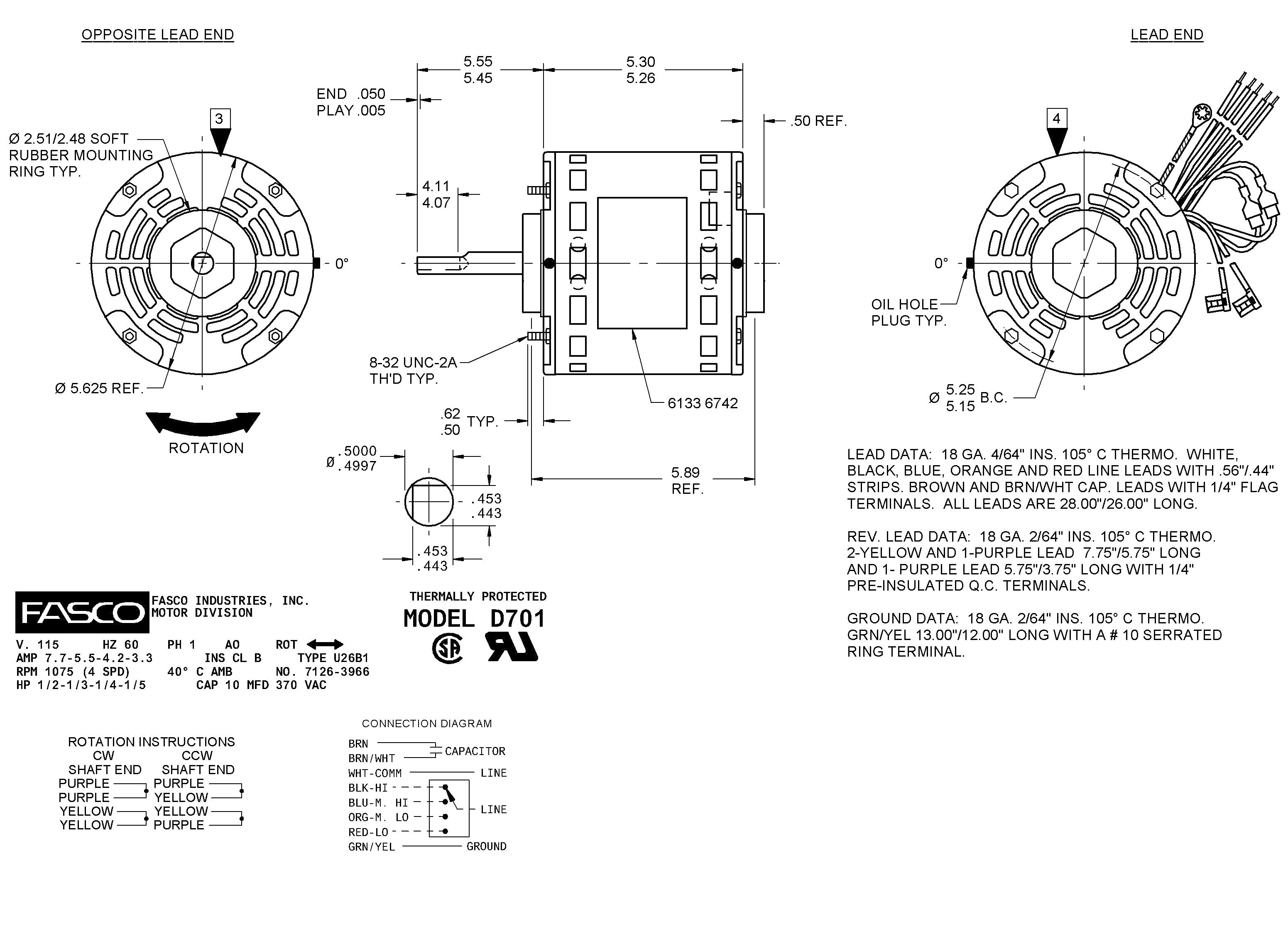 Ao Smith Motor Parts Diagram Century Electric Motor Wiring ... on