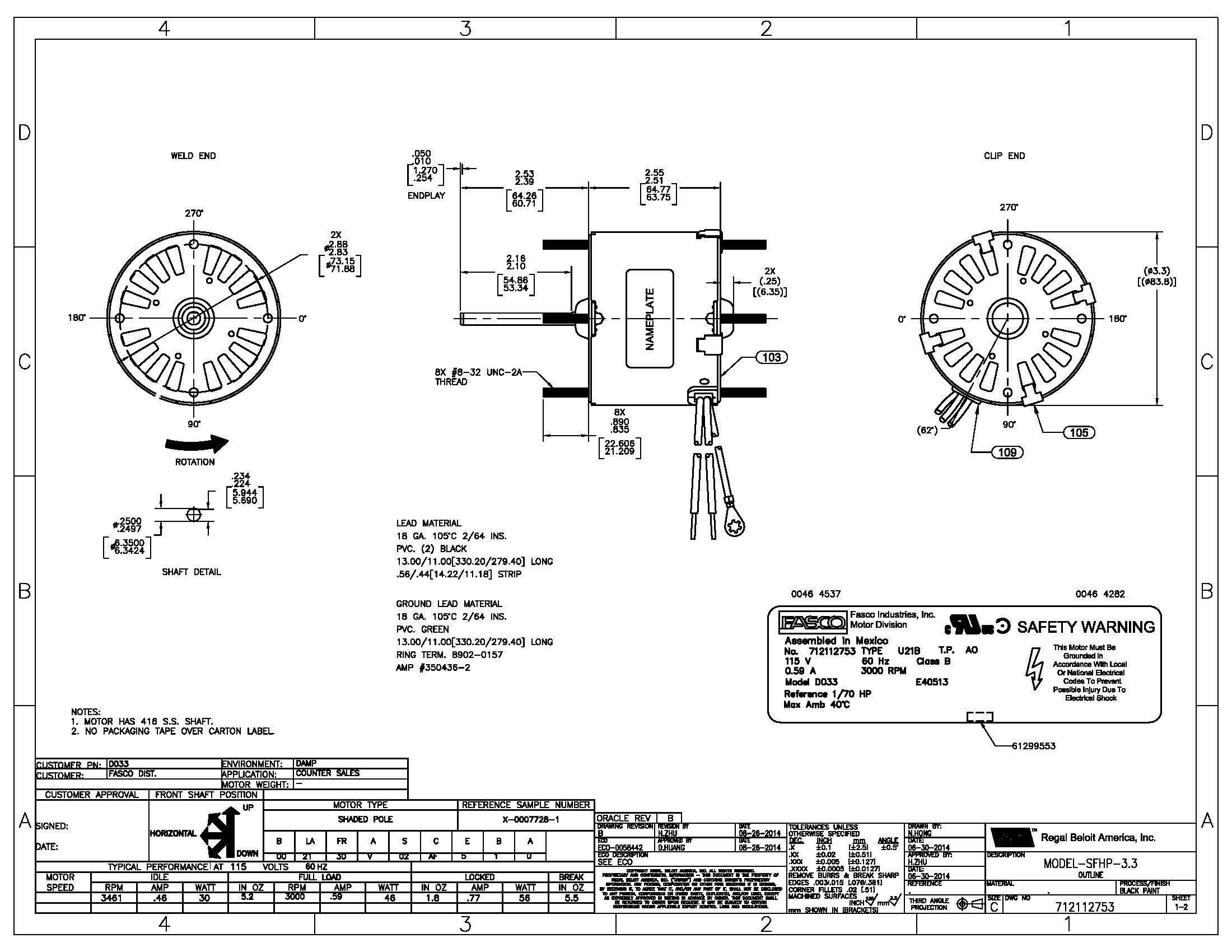 Ao Smith Motor Parts Diagram Wiring Diagram Motor Fresh Ao Smith Electric Motor Wiring Diagram