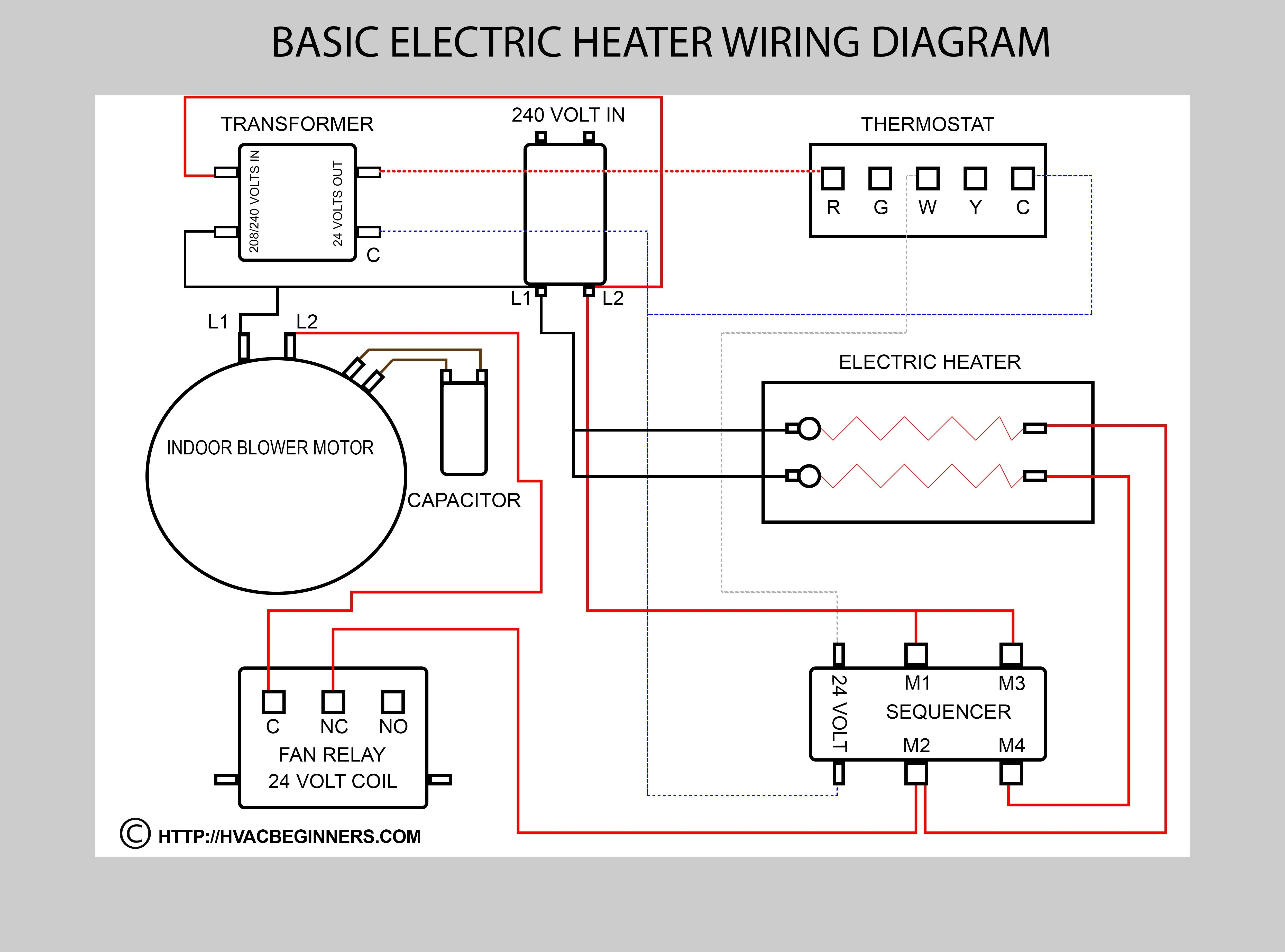 Auto Aircon Diagram Basic Air Conditioning Wiring Diagram