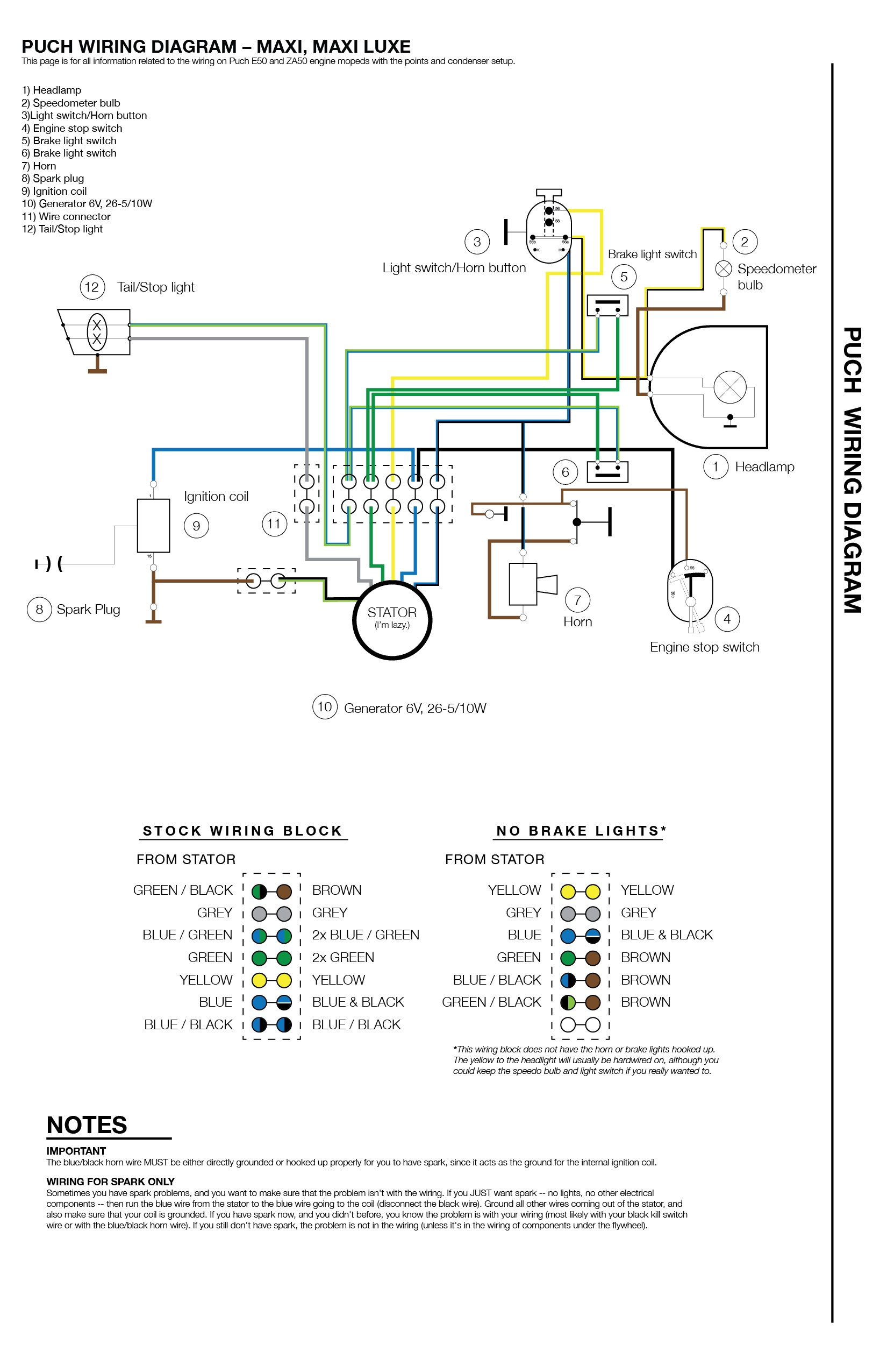 Brake Pedal Switch Diagram Brake Light Switch Wiring Diagram New Puch Wiring Moped Wiki Of Brake Pedal Switch Diagram