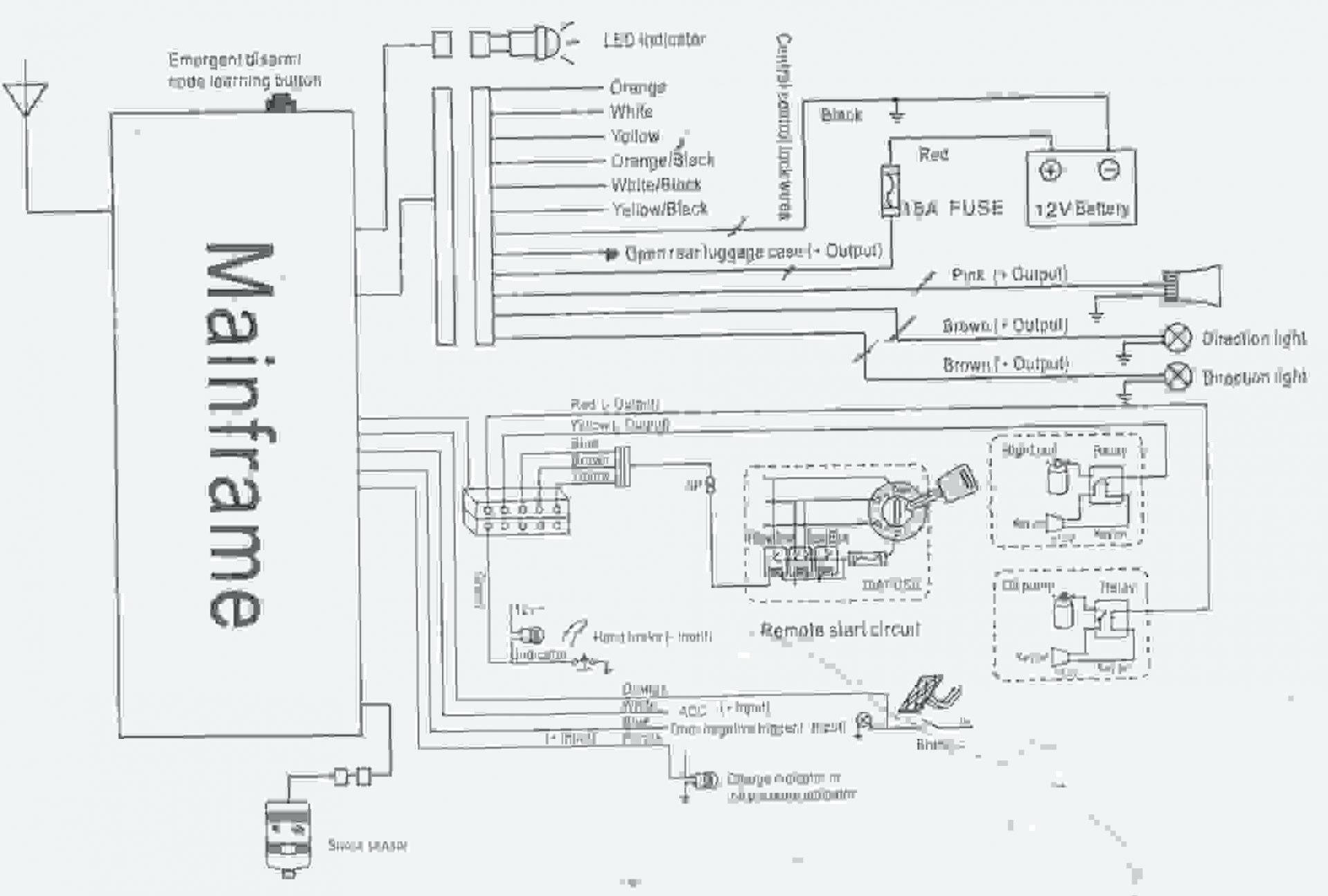 Car Alarm System Diagram Alarm Wiring Diagrams for Cars Of Car Alarm System Diagram