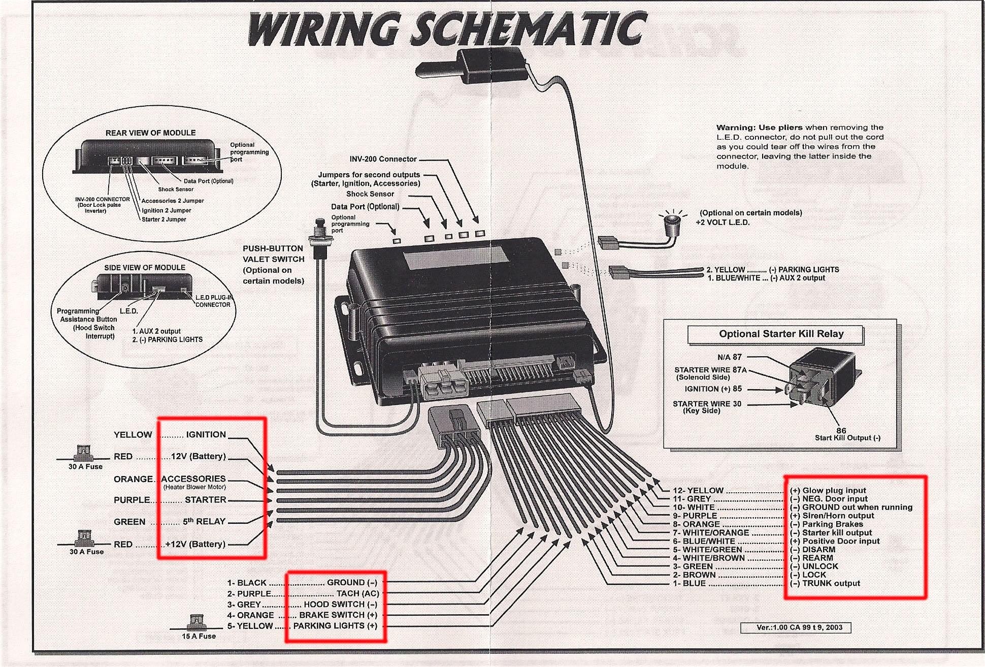 Car Alarm System Diagram Car Alarm Wiring Diagram Security Download Throughout Diagrams Of Car Alarm System Diagram