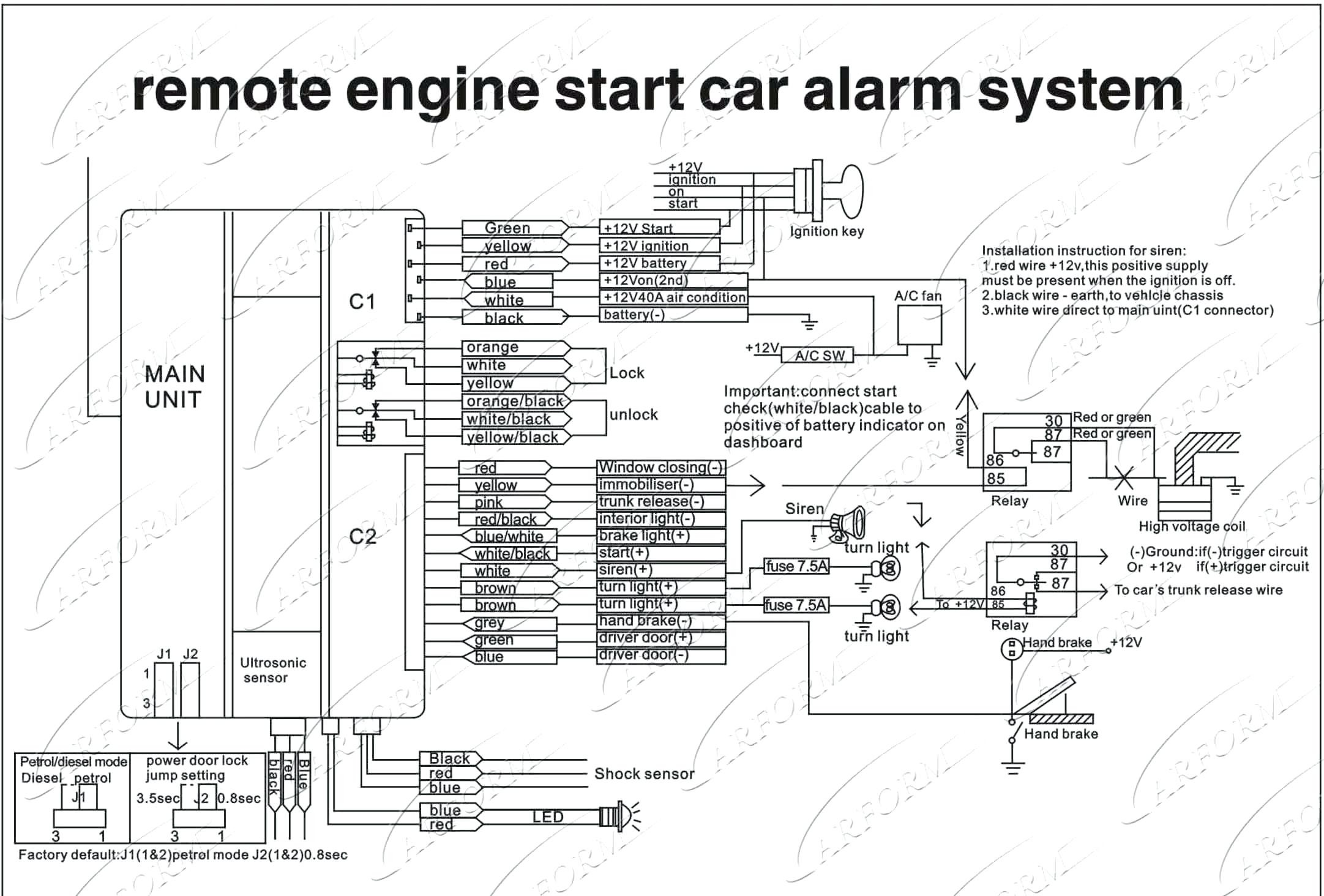 Car Alarm System Wiring Diagram Car Security System Wiring Diagram – Volovetsfo Of Car Alarm System Wiring Diagram