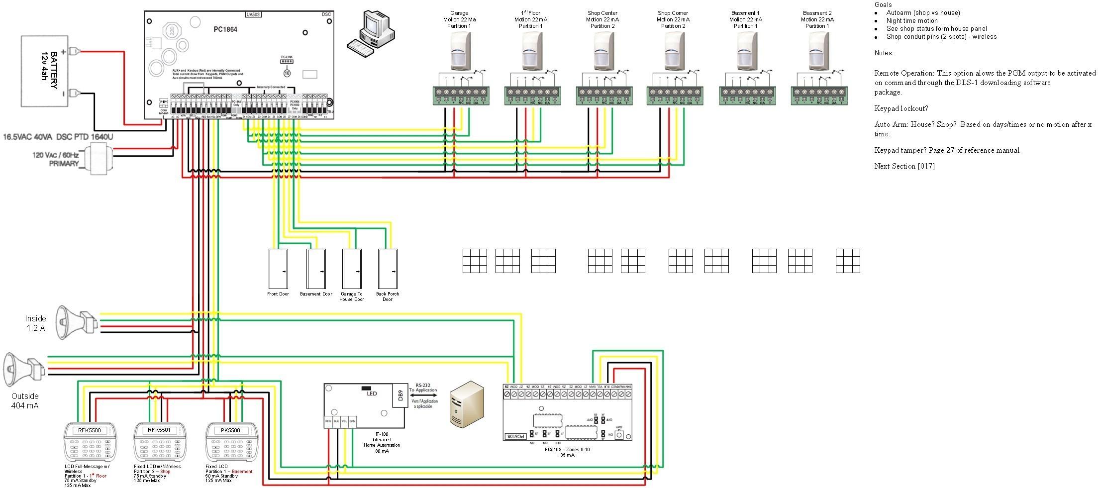 Car Alarm System Wiring Diagram Dsc Alarm Wiring Diagram Wiring