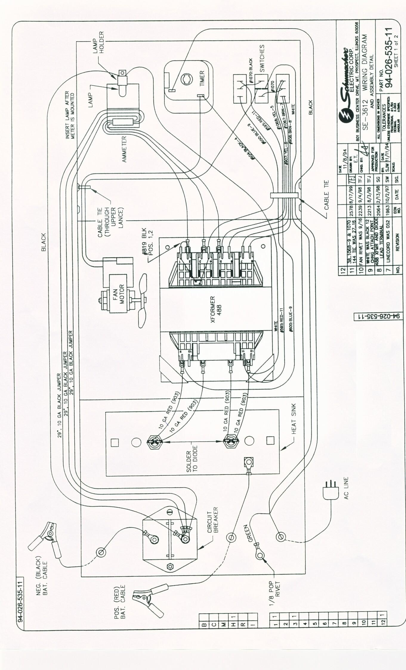 car battery charger circuit diagram my wiring diagram rh detoxicrecenze com Schumacher Battery Charger Repair Schumacher Battery Charger Manual
