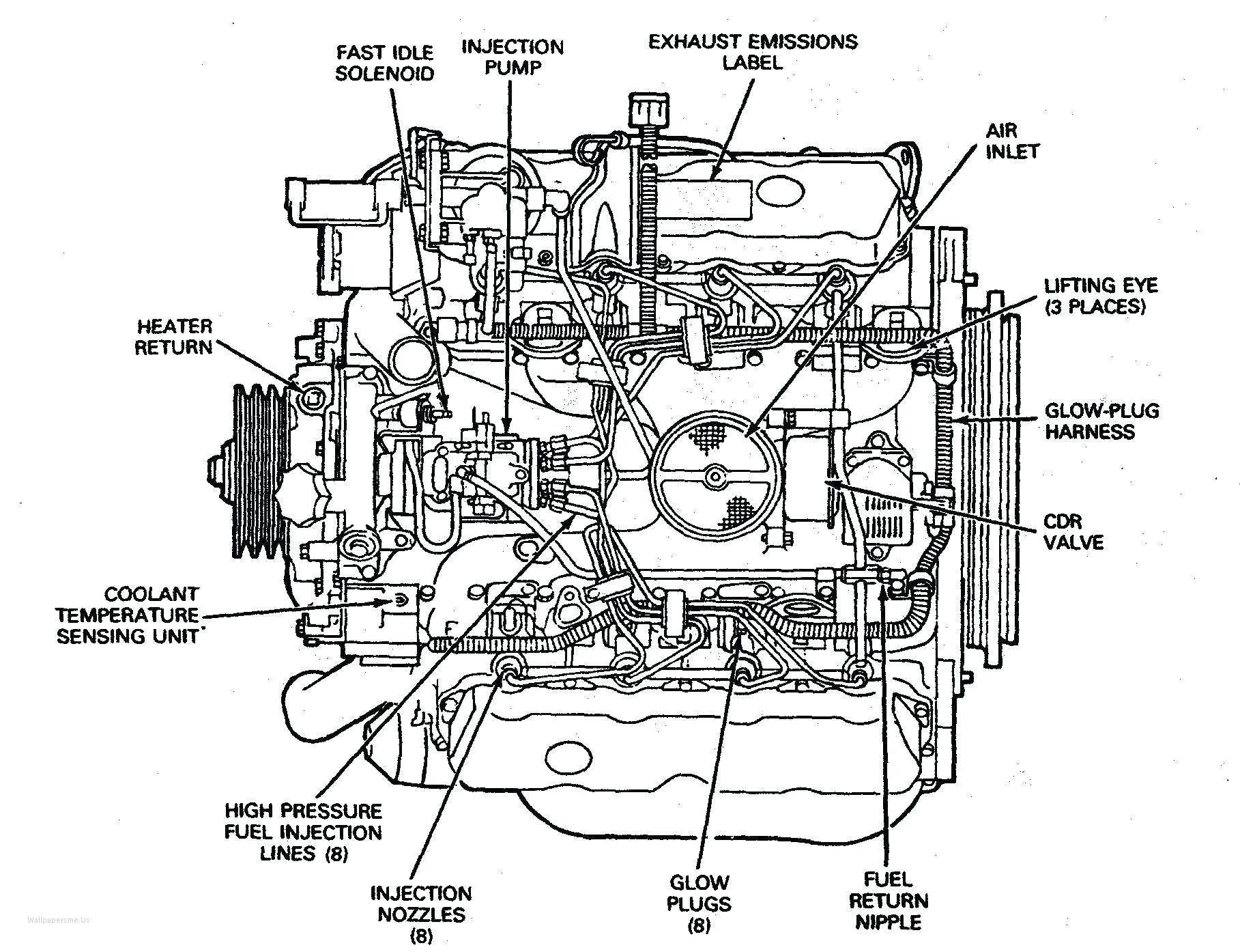 Car Engine Labeled Diagram Car Engine Diagram with Labeled – My ...