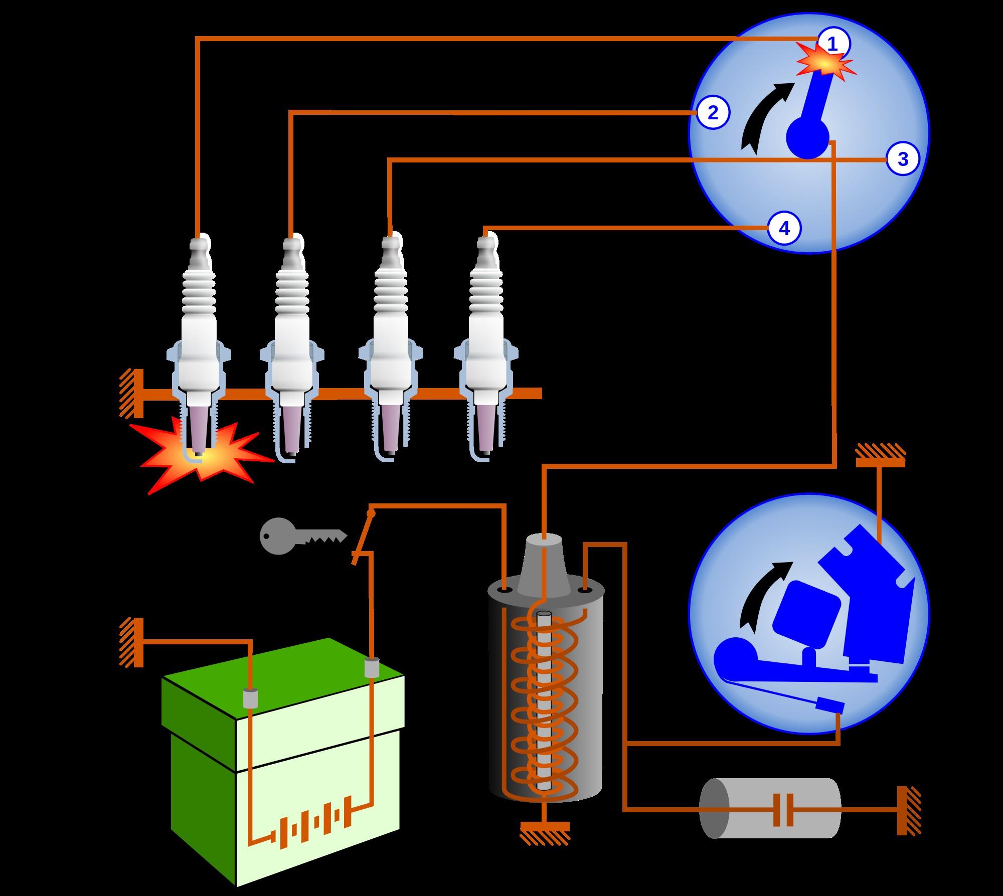 Car Ignition System Diagram Car Ignition System Diagram Wiring Diagram Of Car Ignition System Diagram
