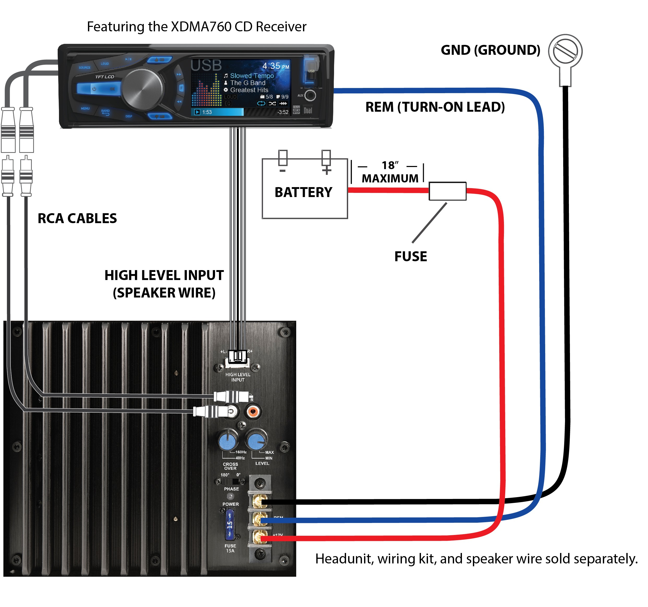Amp Wiring Diagram 3 - Today Wiring Schematic Diagram on