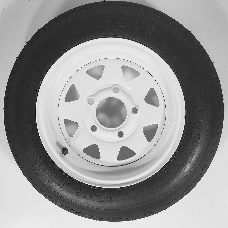 Car Tire Parts Diagram Amazon Ecustomrim Trailer Tire Rim 4 80 12 480 12 4 80 X 12 Of Car Tire Parts Diagram
