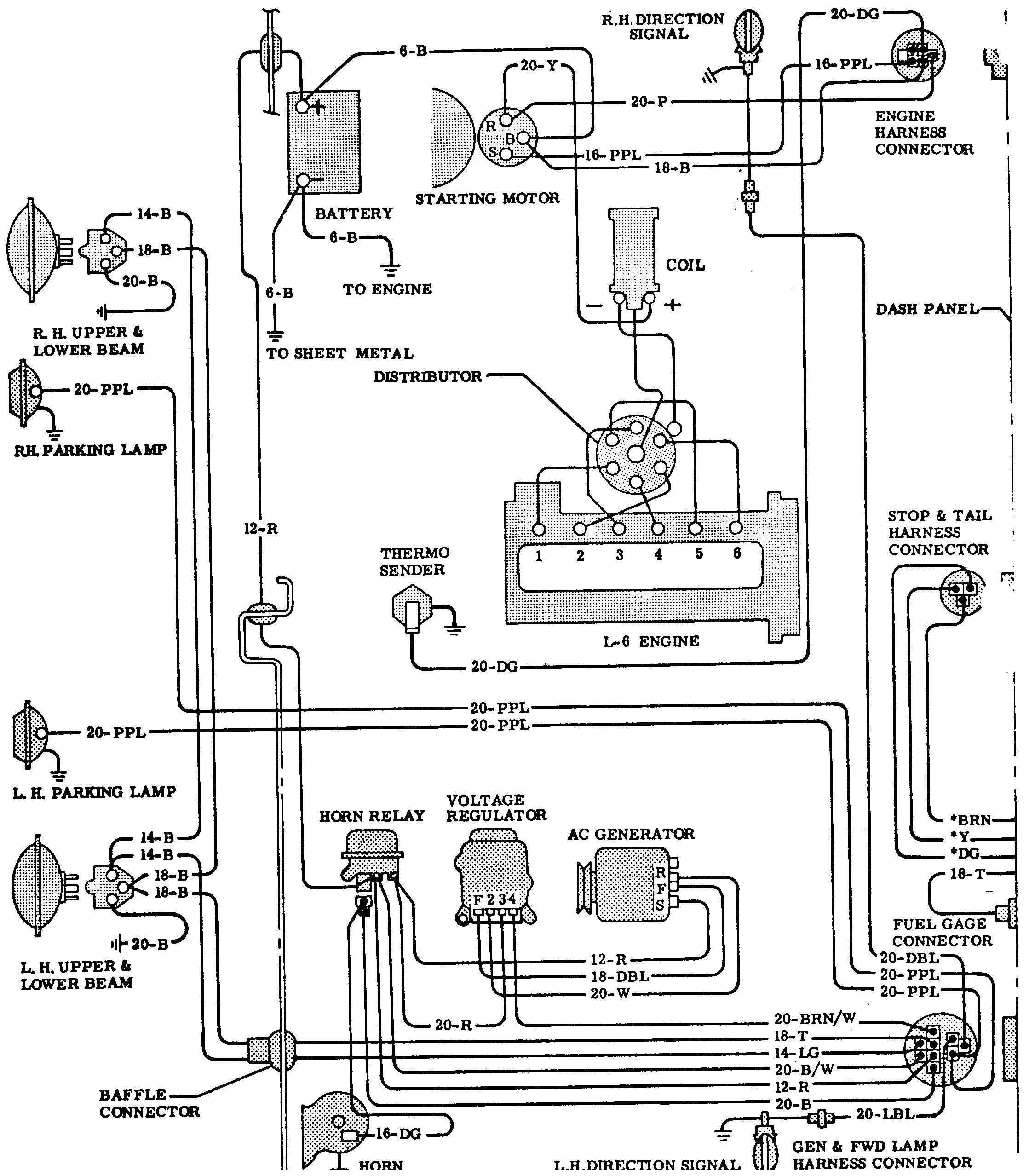 chevrolet truck parts diagram 78 chevy starter diagram