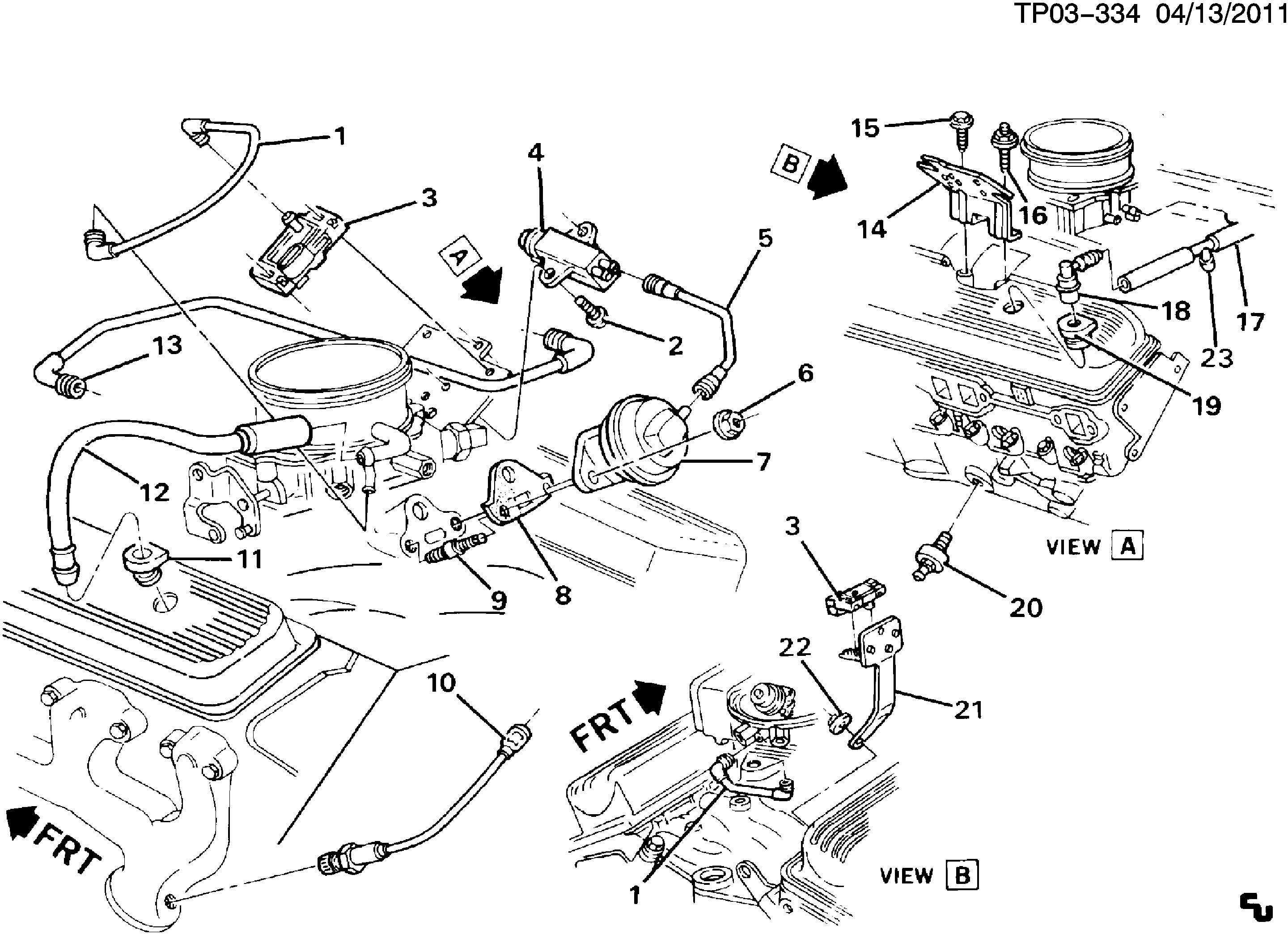 1990 Chevy 350 Engine Diagram - Wiring Diagram General