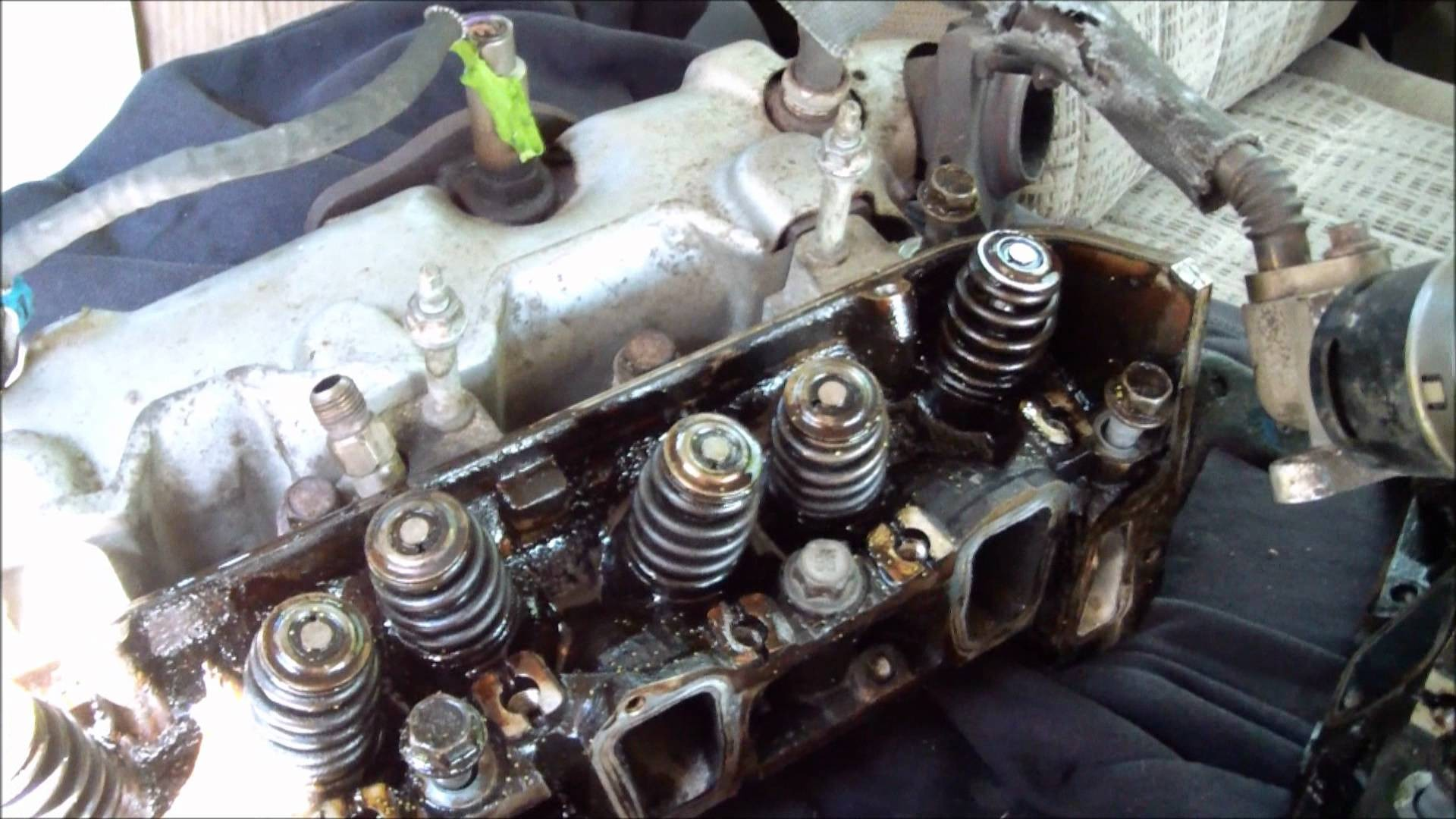 Chevy Venture Engine Diagram 2003 3400 Gmc Mikethereinholder With Blown Head Gaskets Video Of