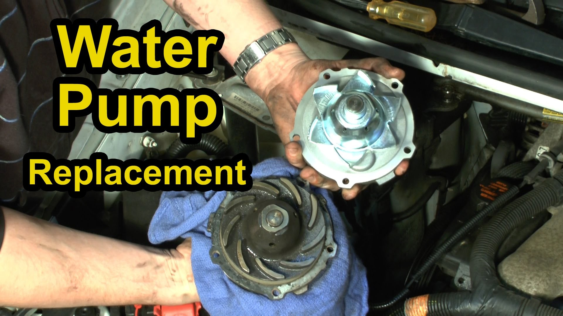 Chevy Venture Engine Diagram Water Pump Replacement Chevy 3 4l V6 Step by  Step Instructions Of