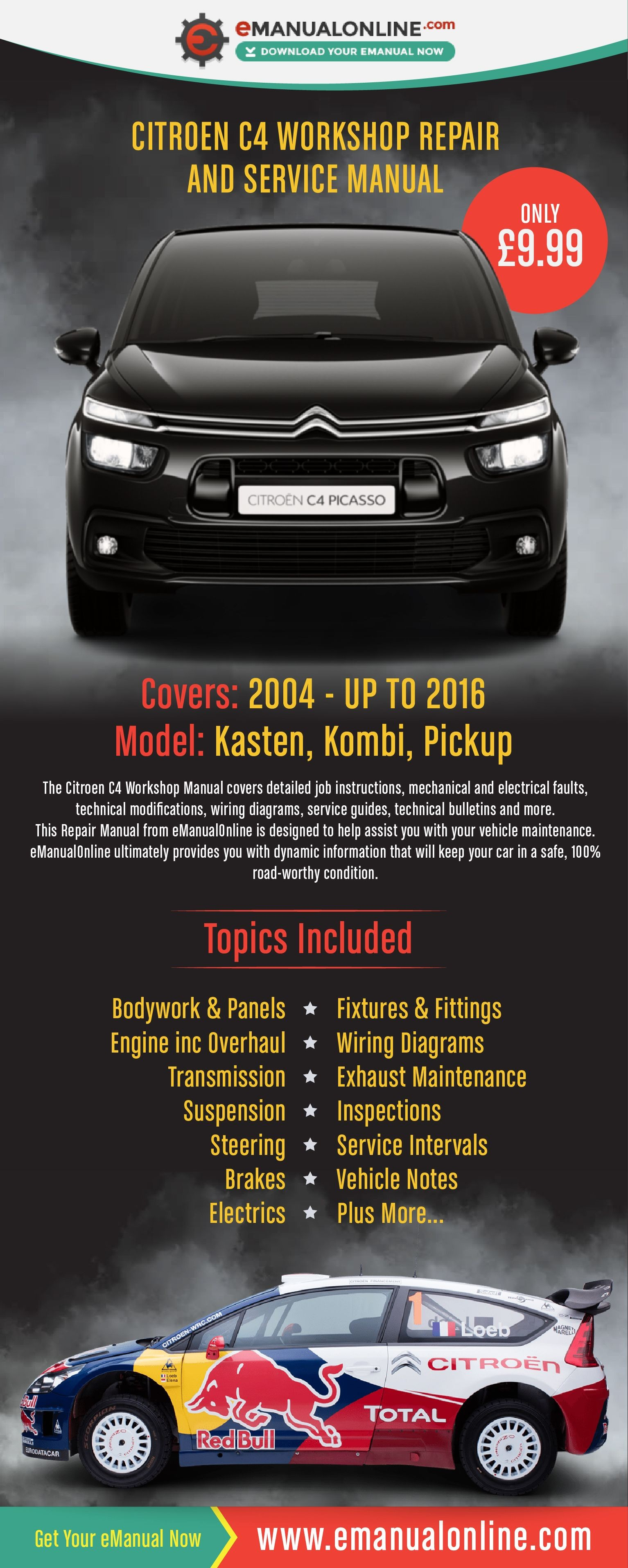 Citroen C4 Engine Diagram Citroen C4 Workshop Repair and Service Manual Of Citroen C4 Engine Diagram