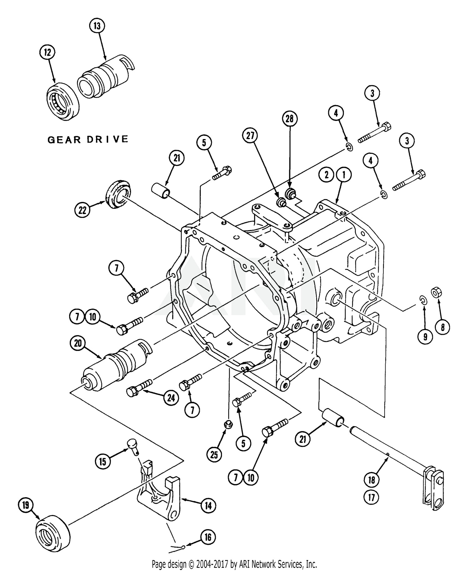 Cub Cadet Parts Diagram Cub Cadet Parts Diagrams Cub Cadet 7274 Tractor 545 436d100 544