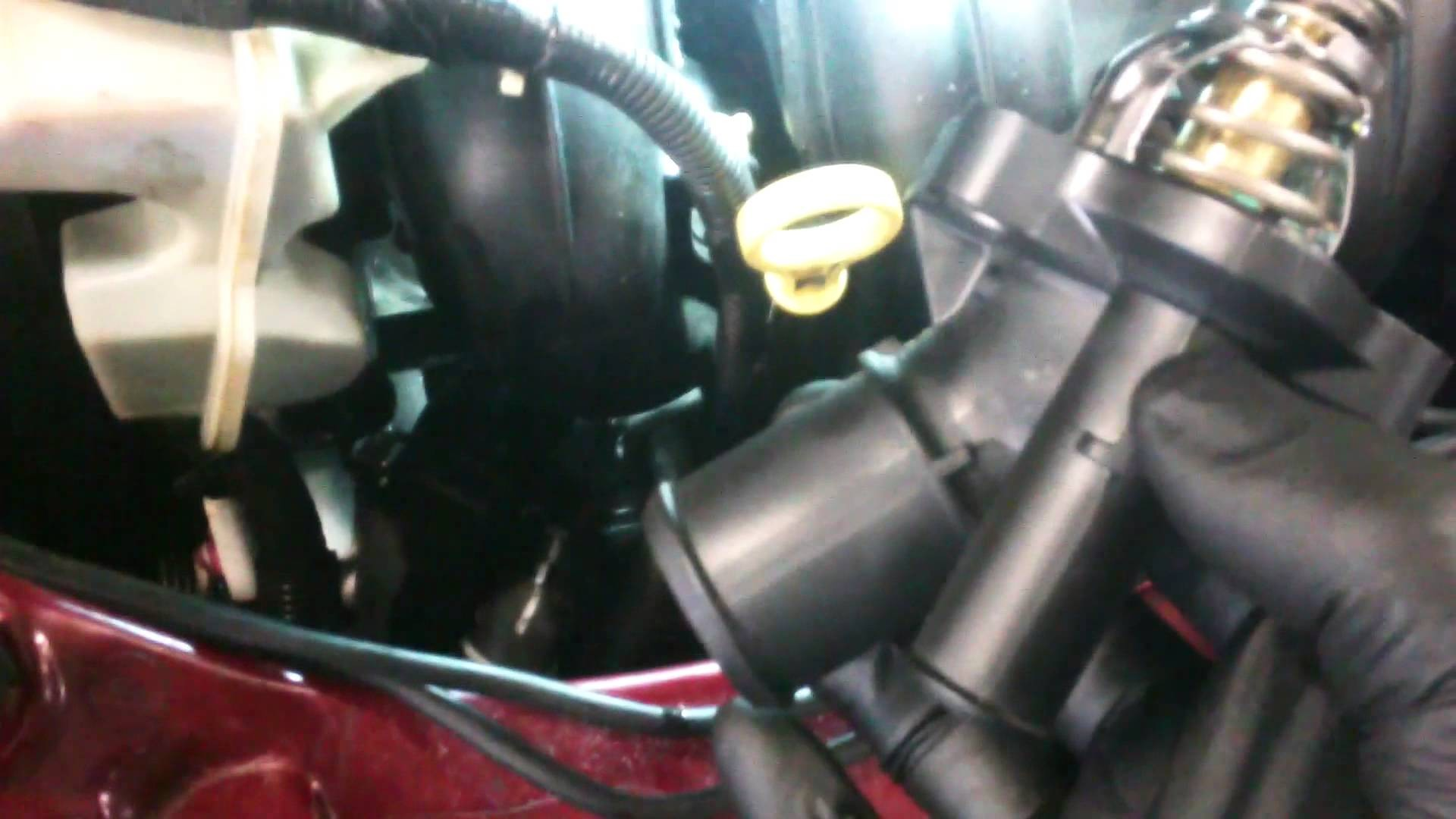 Diagram Of Car thermostat thermostat Replacement 2005 2011 ford Focus 2 0l assembly Install Of Diagram Of Car thermostat