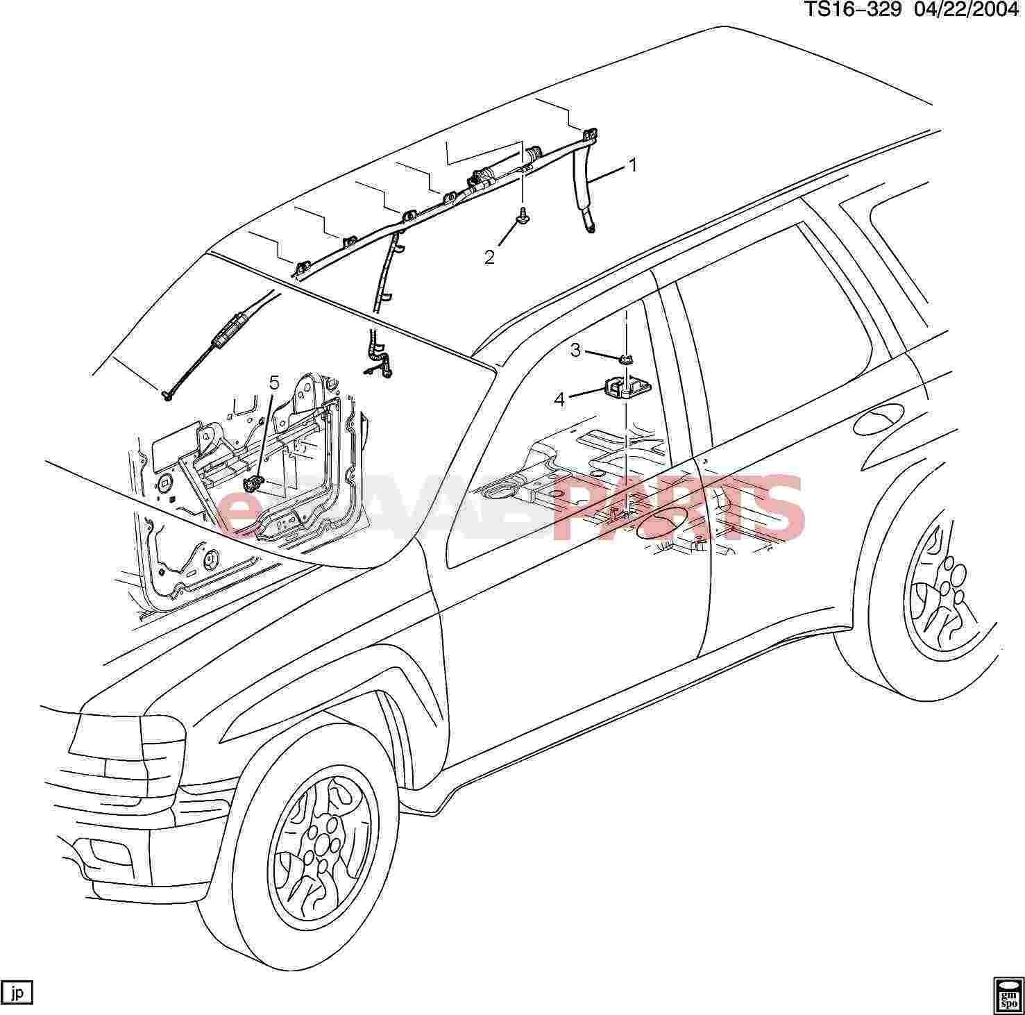 diagram of parts under a car